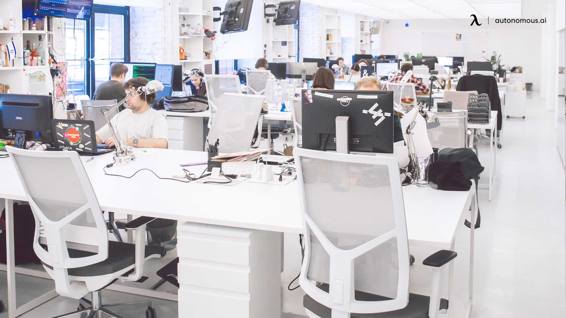 ergonomic offices make people cared