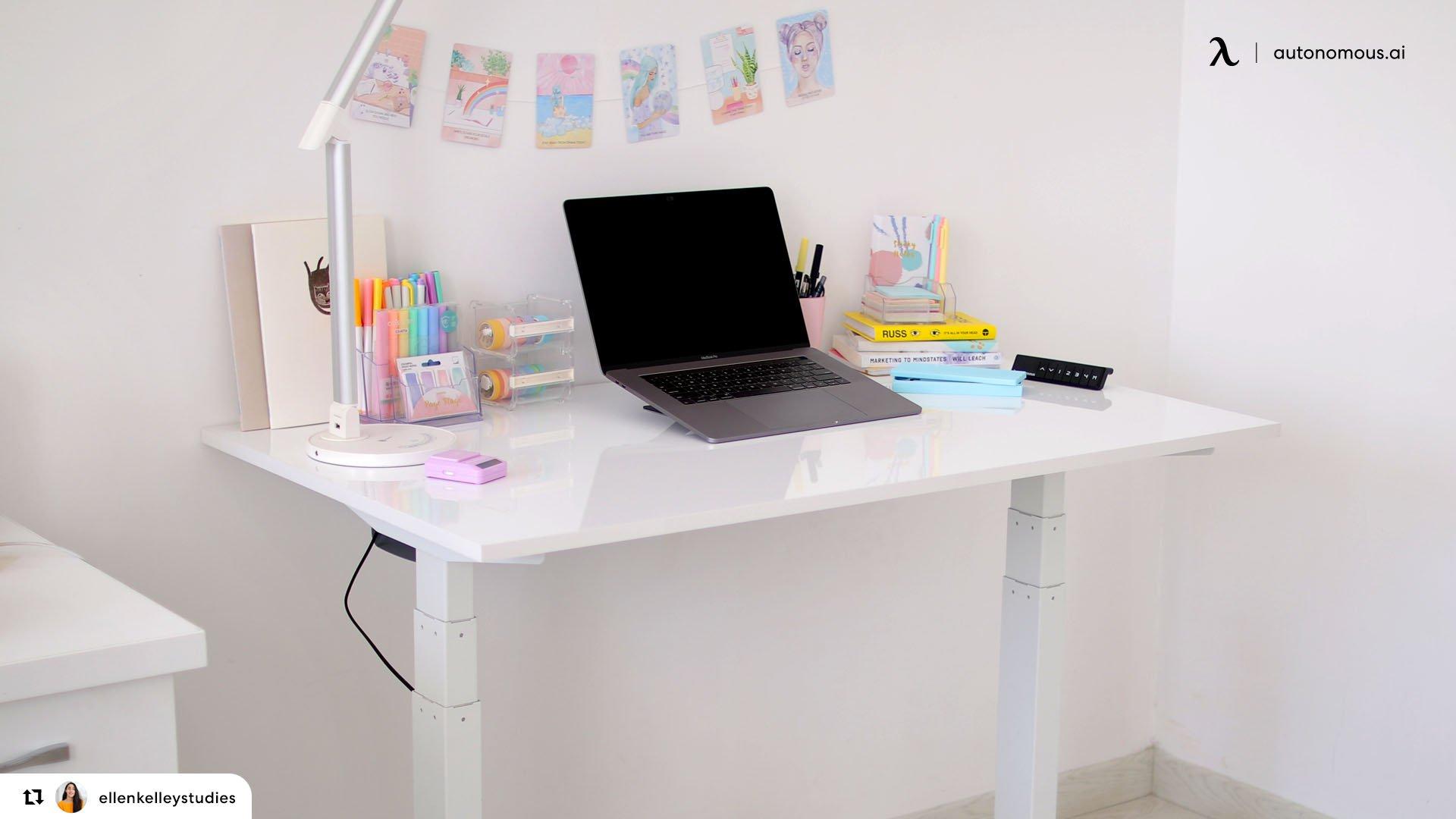 ergonomic study desk for kids