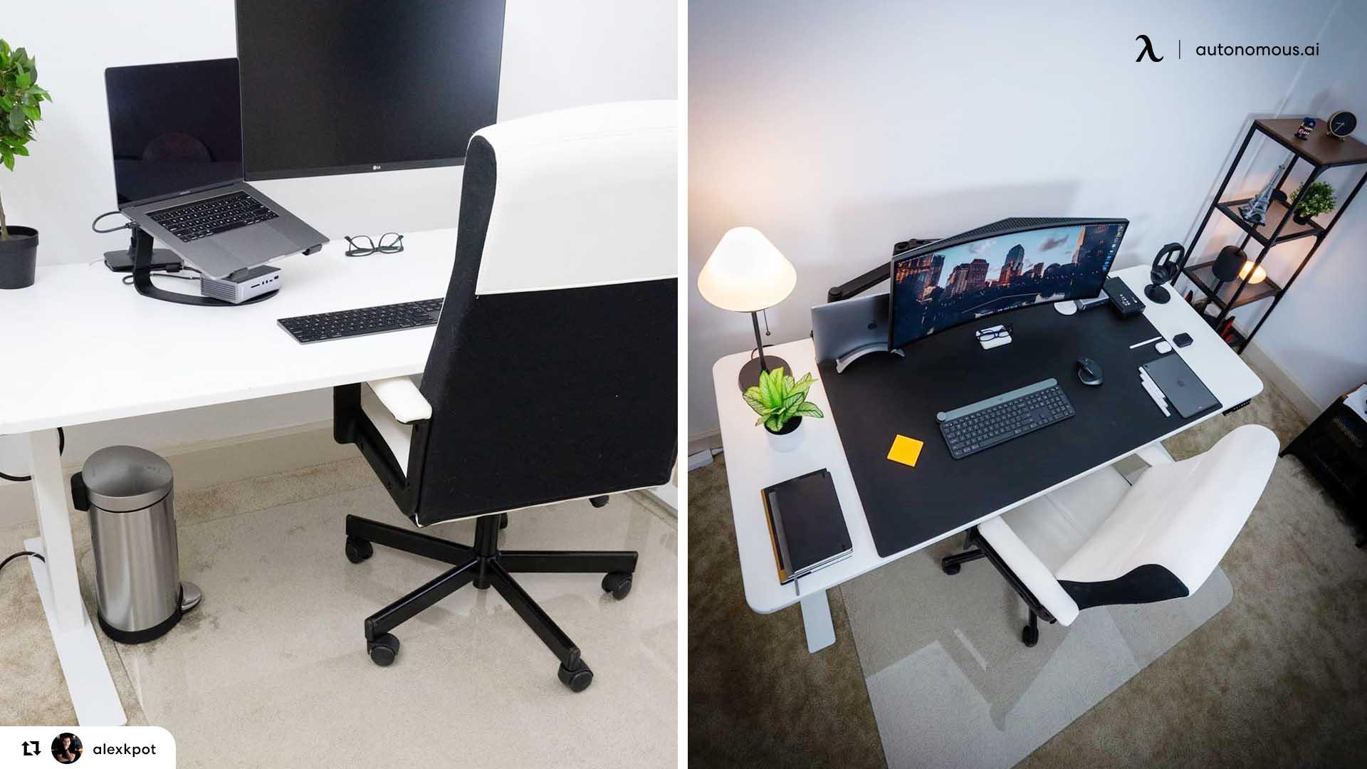 Choose an ergonomic standing desk