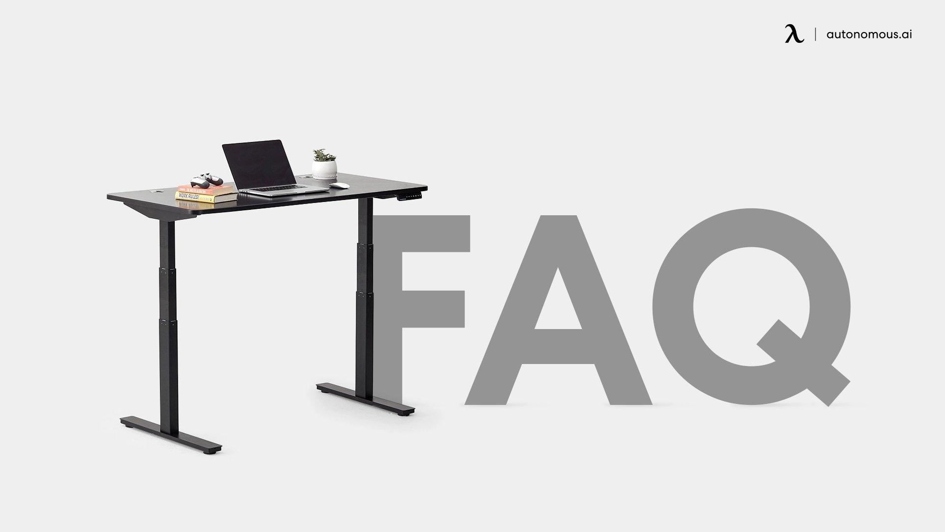 ergonomic desk FAQ