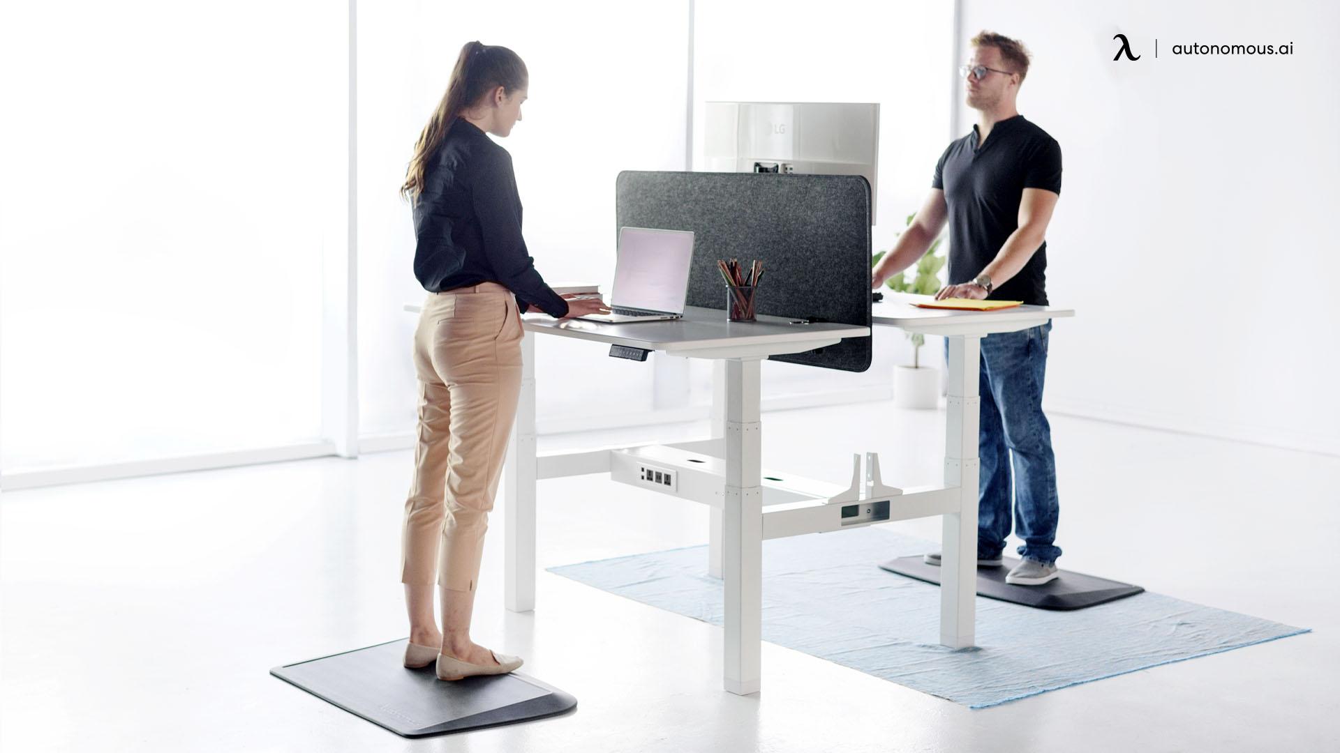 Standing with poor posture
