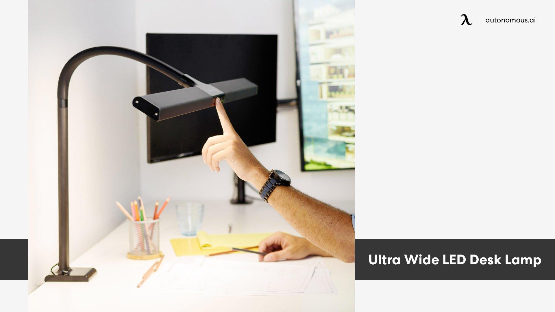 Photo of Ultra Wide LED Desk Lamp