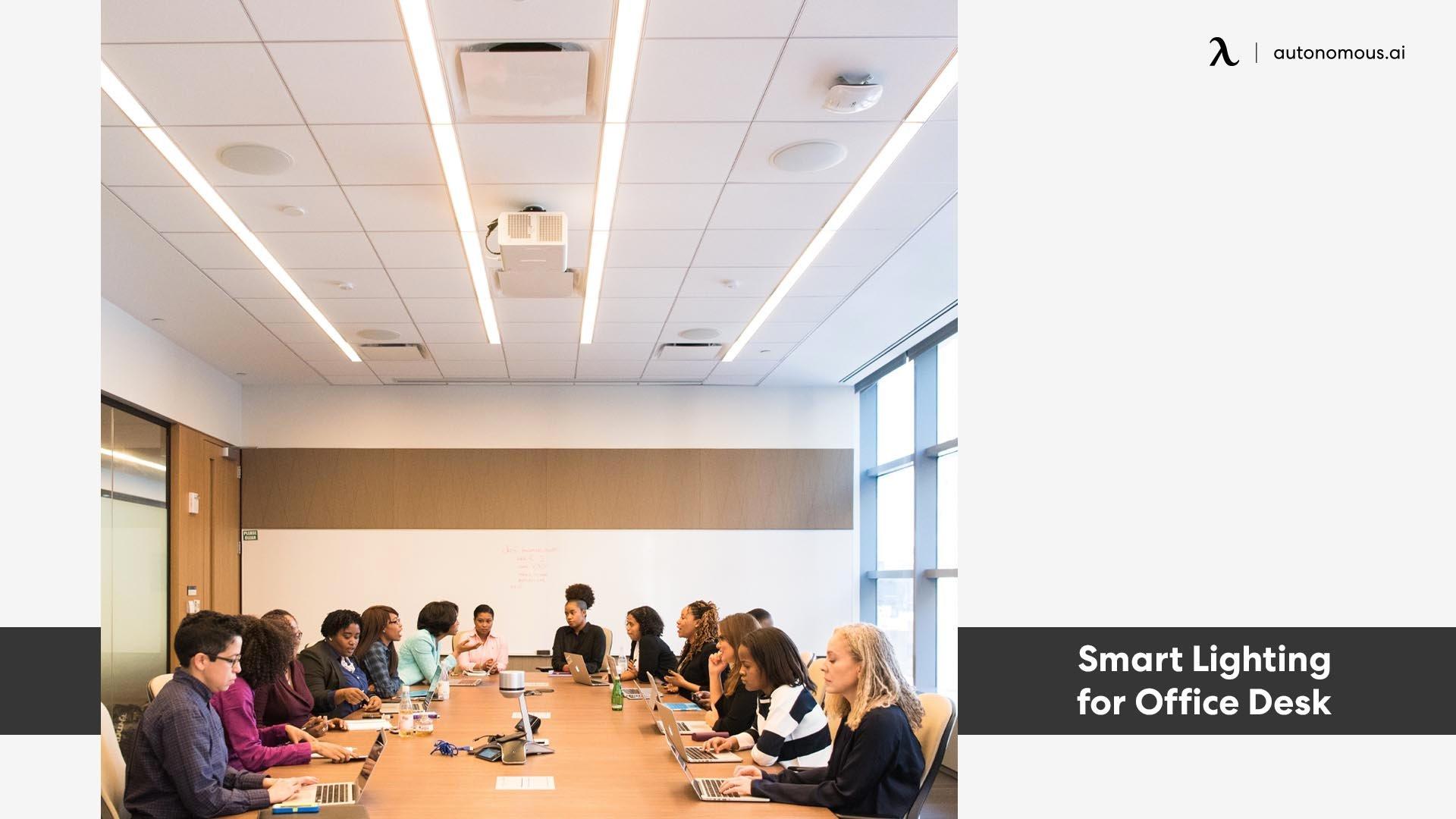 Photo of Smart Lighting for Office Desk