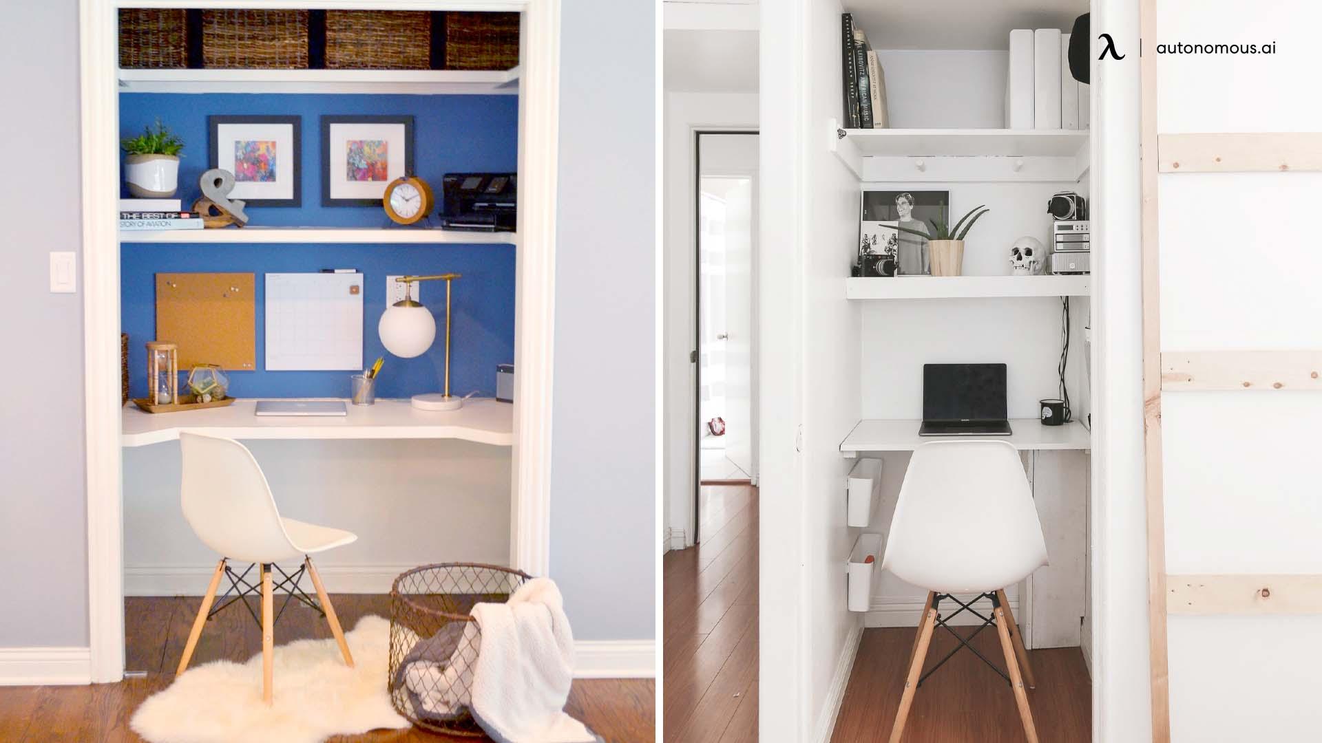 Photo of Putting a Desk in a Closet
