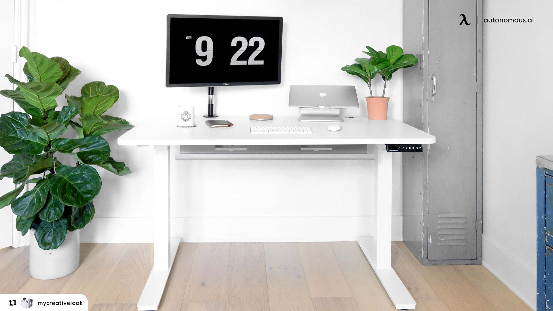 Photo of Simplified Standing Desk