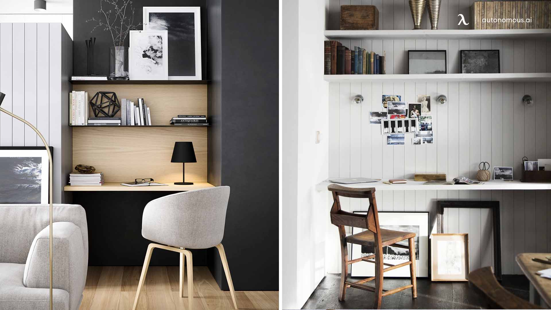 Photo of An Alcove Workspace