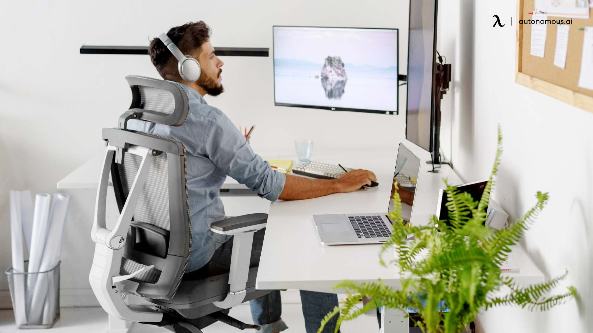Adopt a good work posture