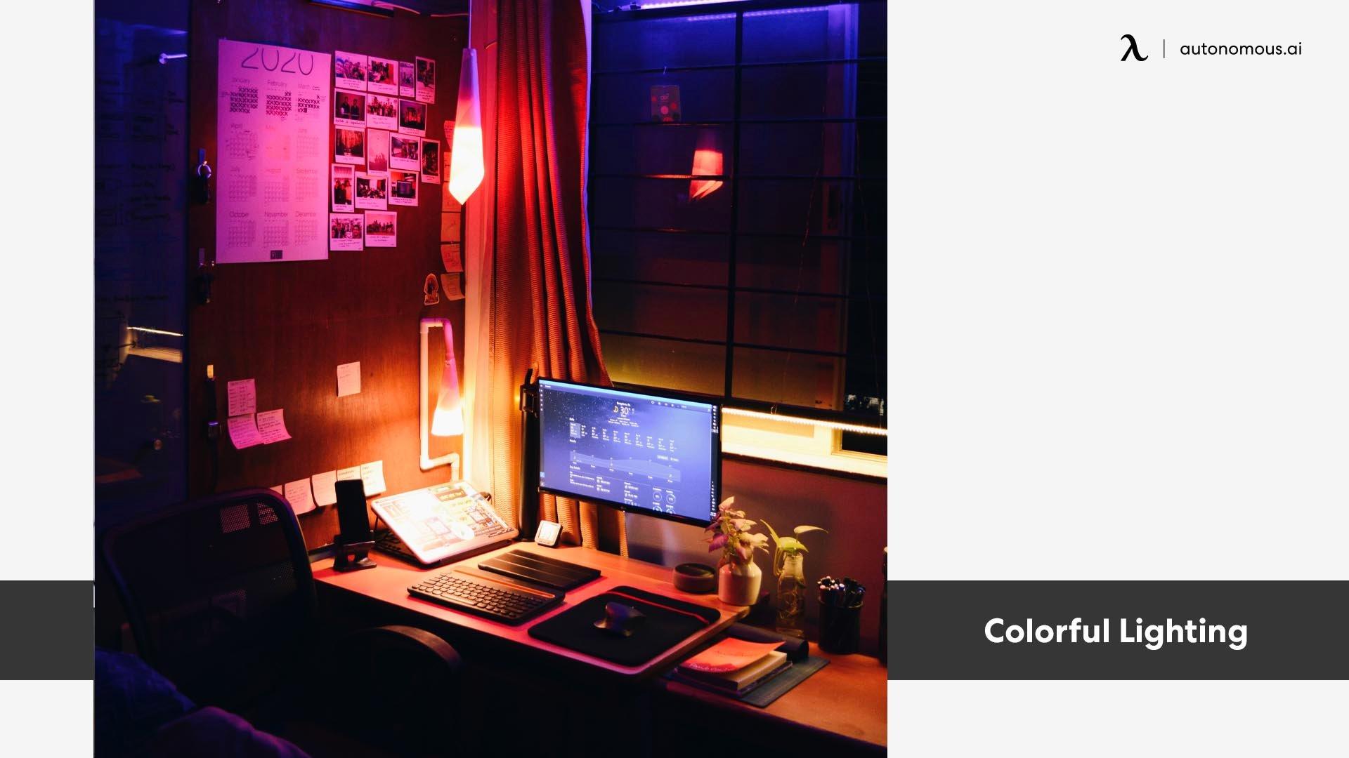 Photo of Colorful Lighting