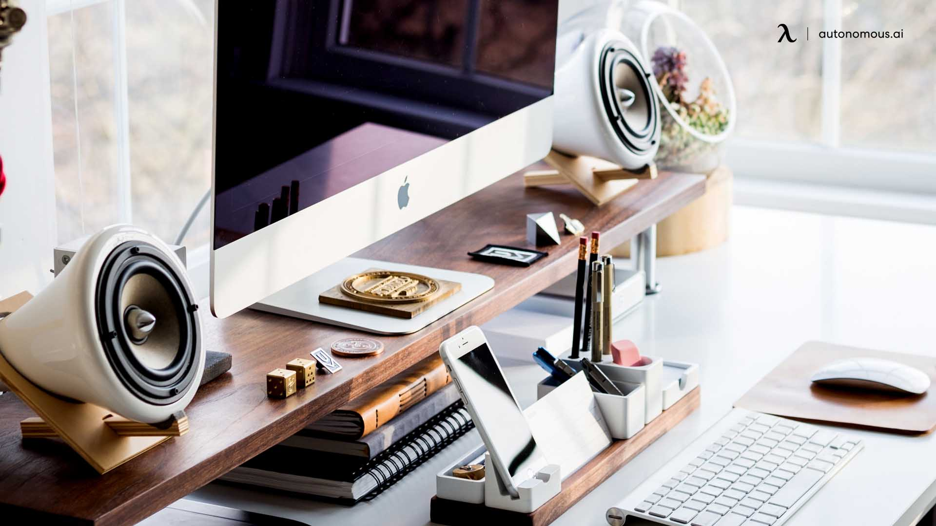 Unique workspace for more daily productivity