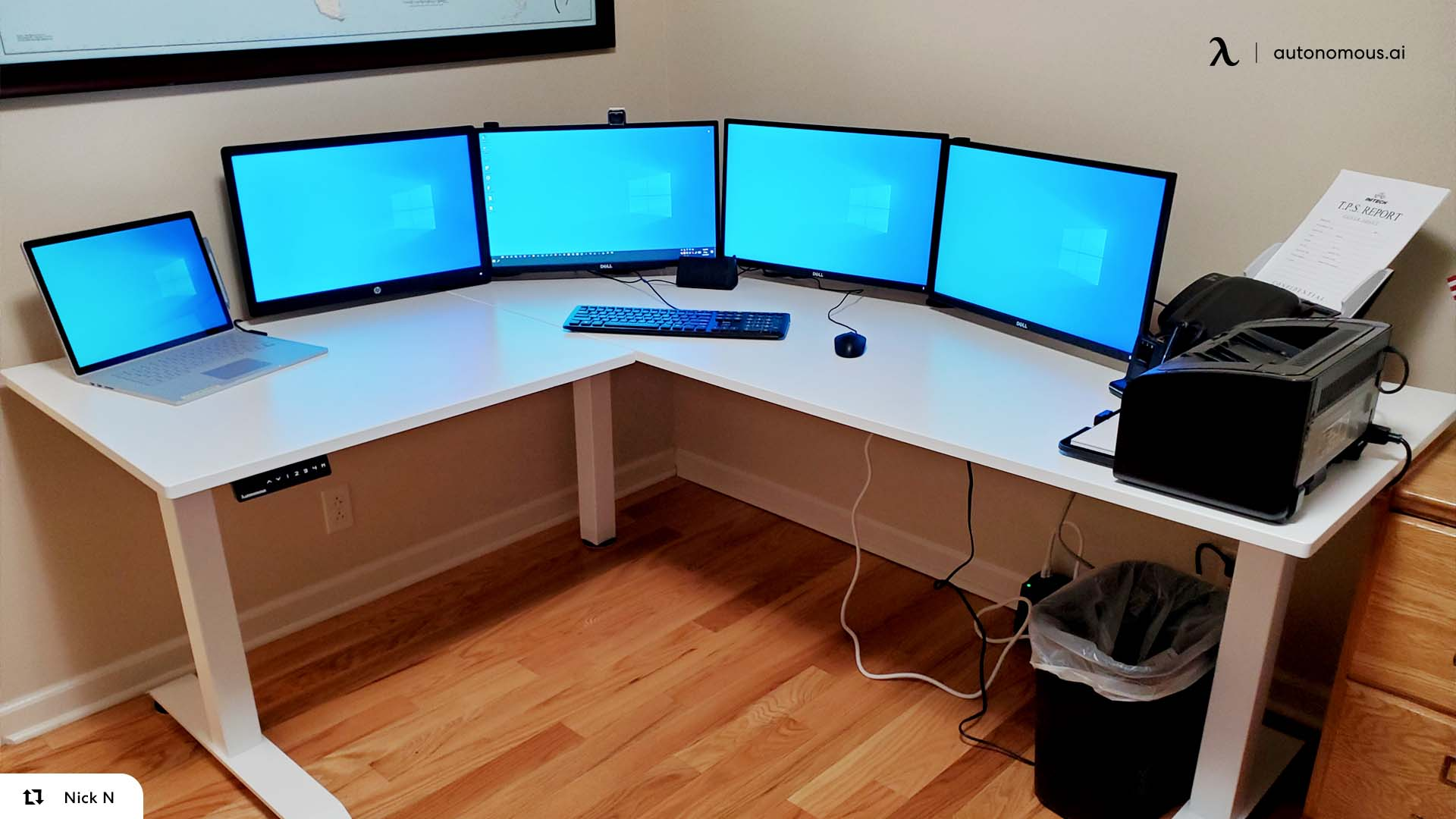 21 Multi Monitor Computer Desk Setup Ideas For Tech Lovers
