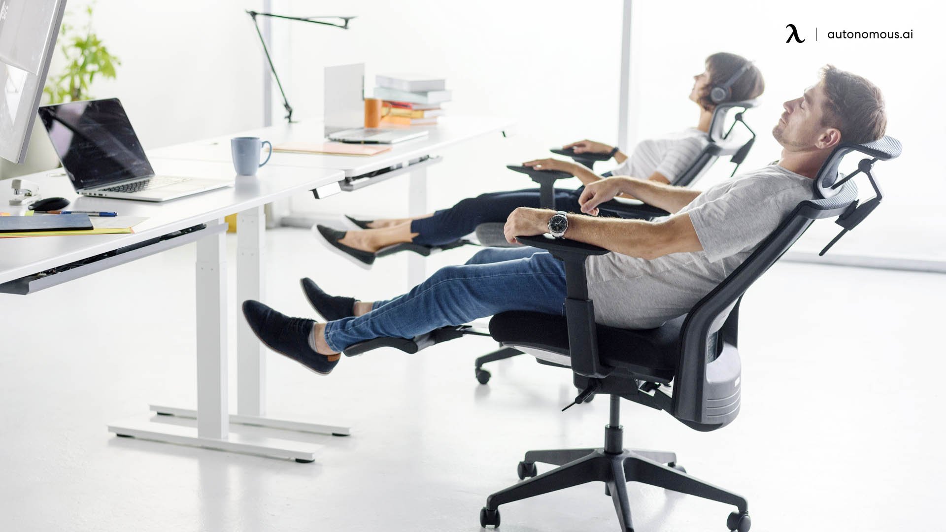 Photo of office chair with back rest