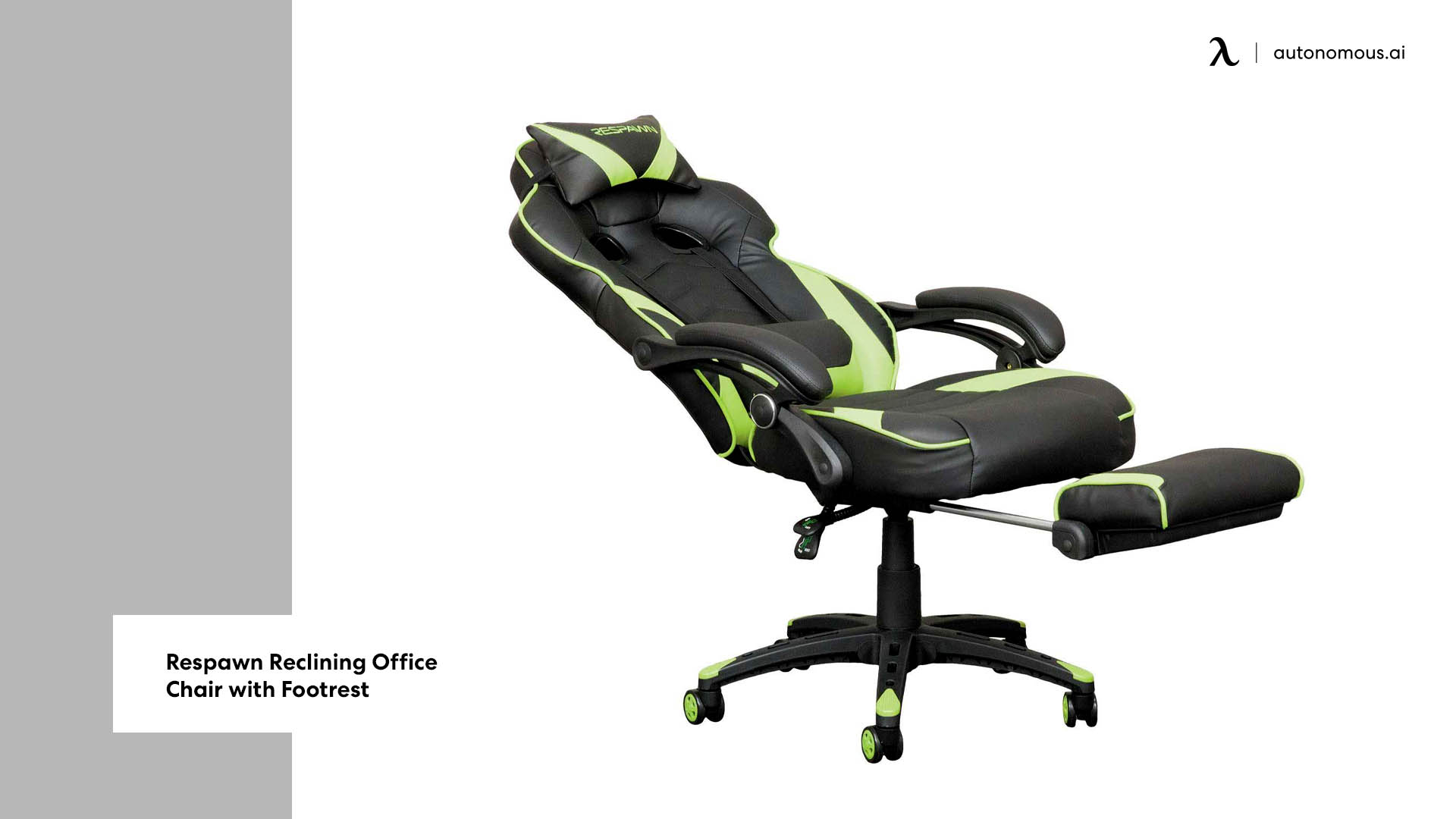 Photo of Respawn Reclining Office Chair with Footrest