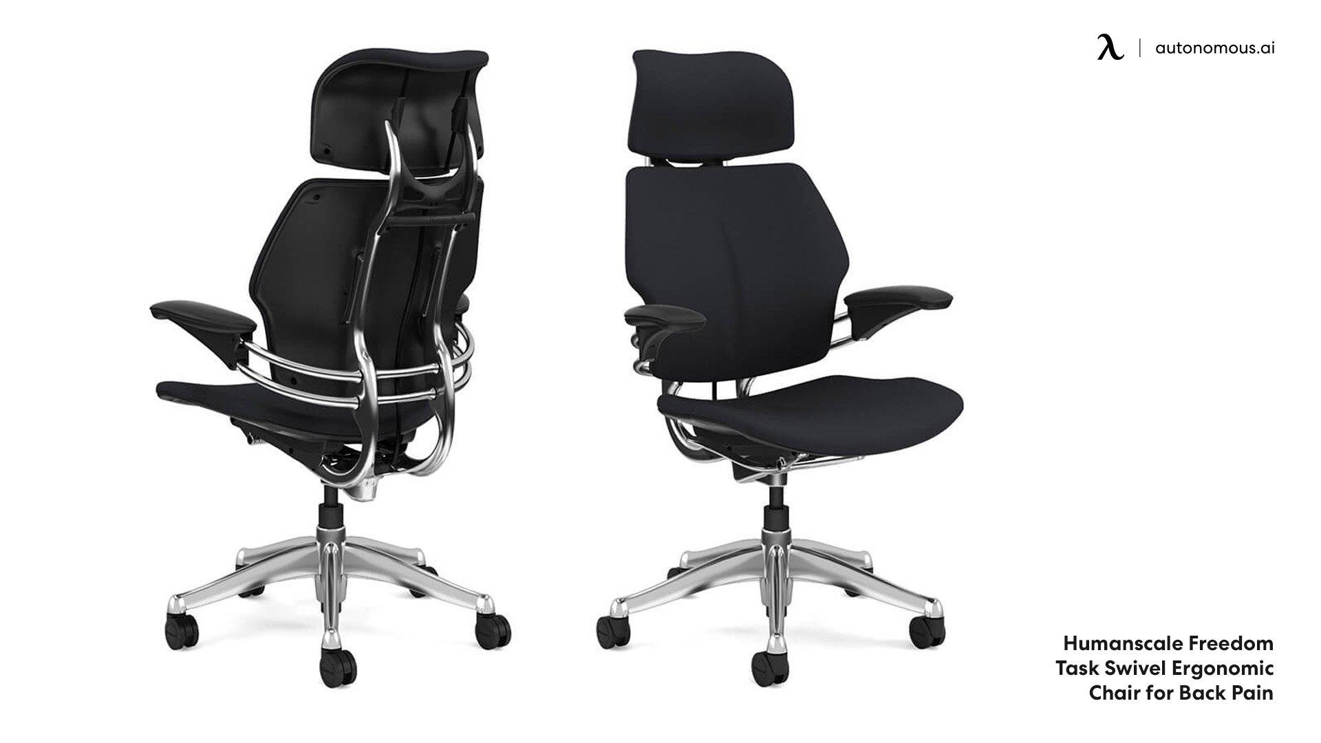 Swivel ergonomic chair