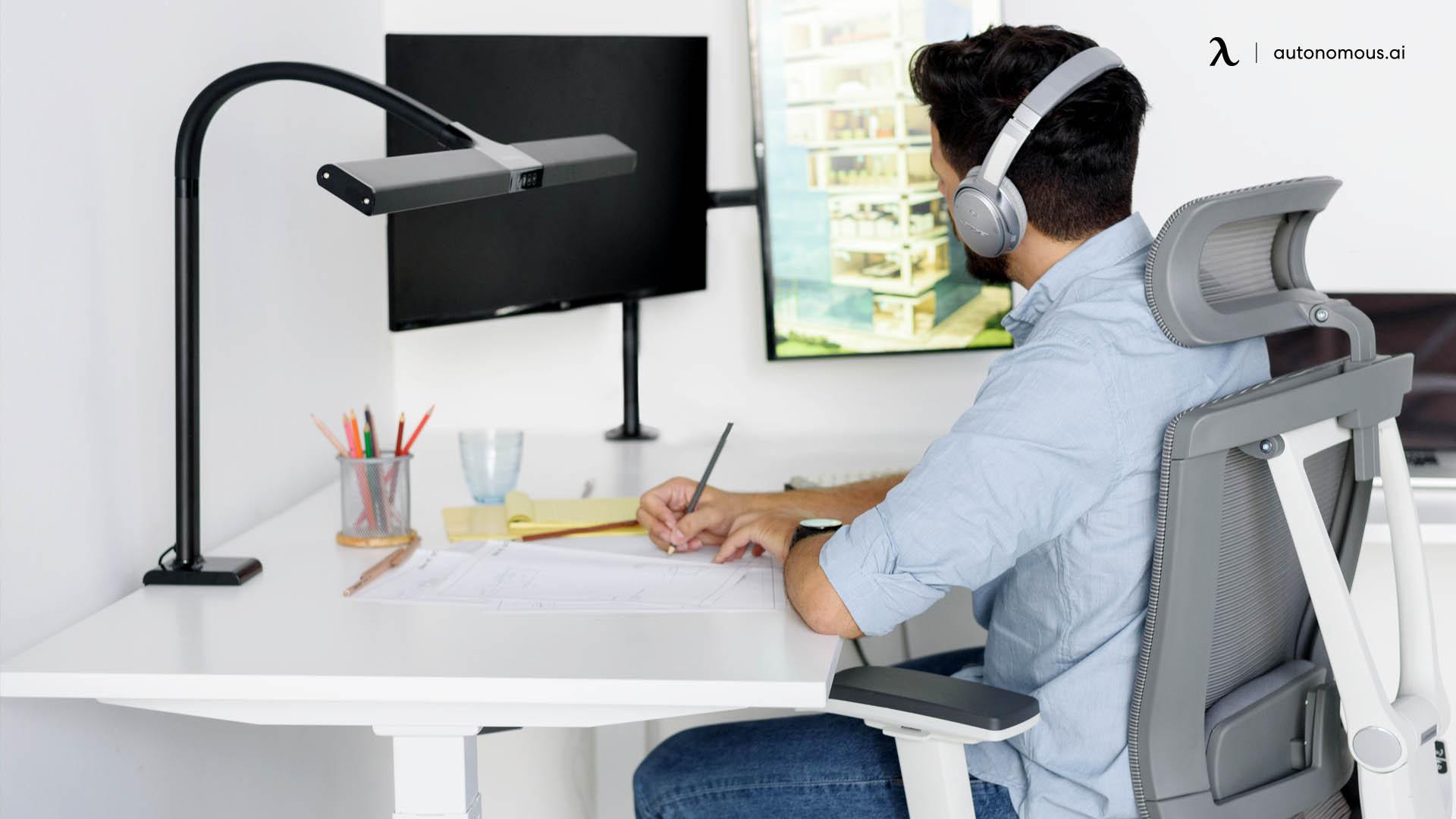 Get an ergonomic chair