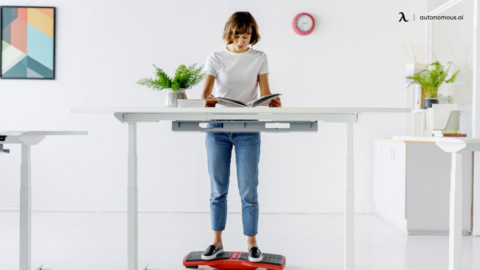 Try a standing desk