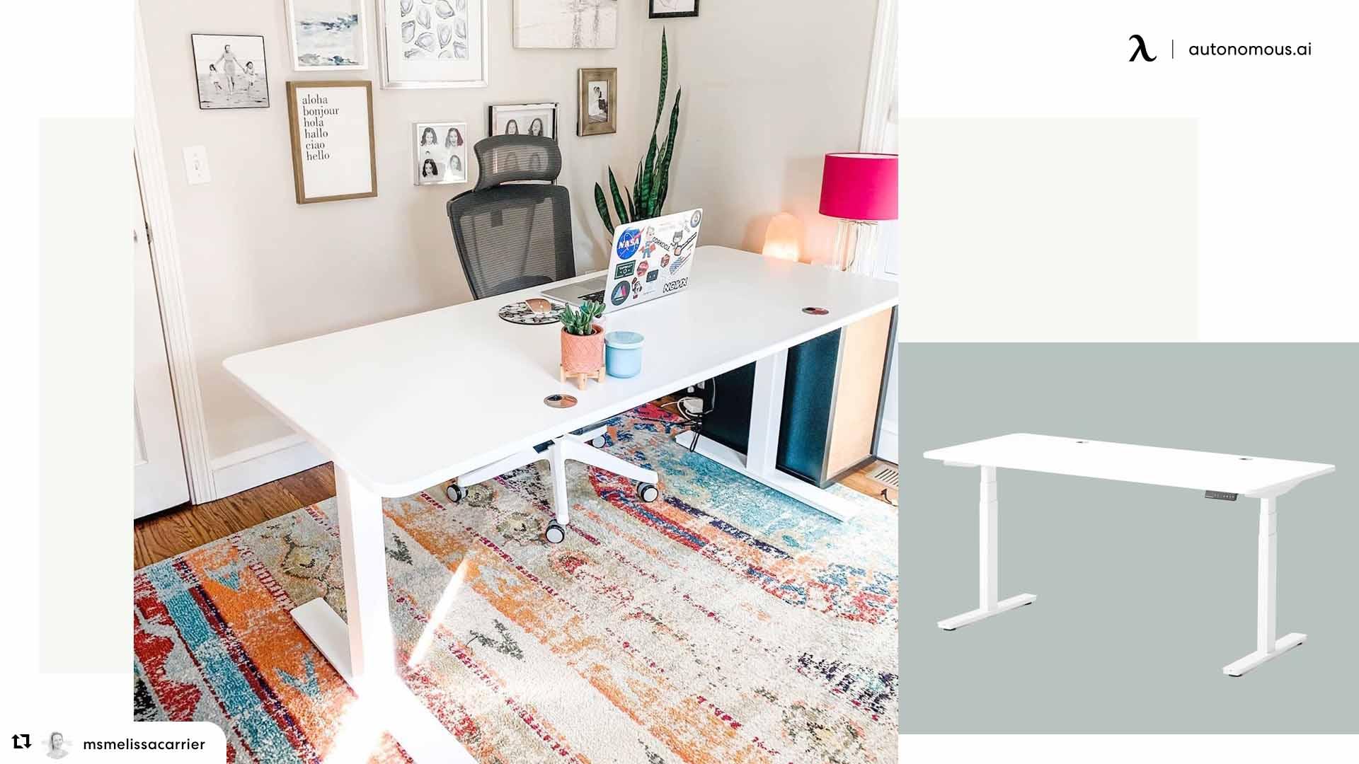 Desk setup for boss