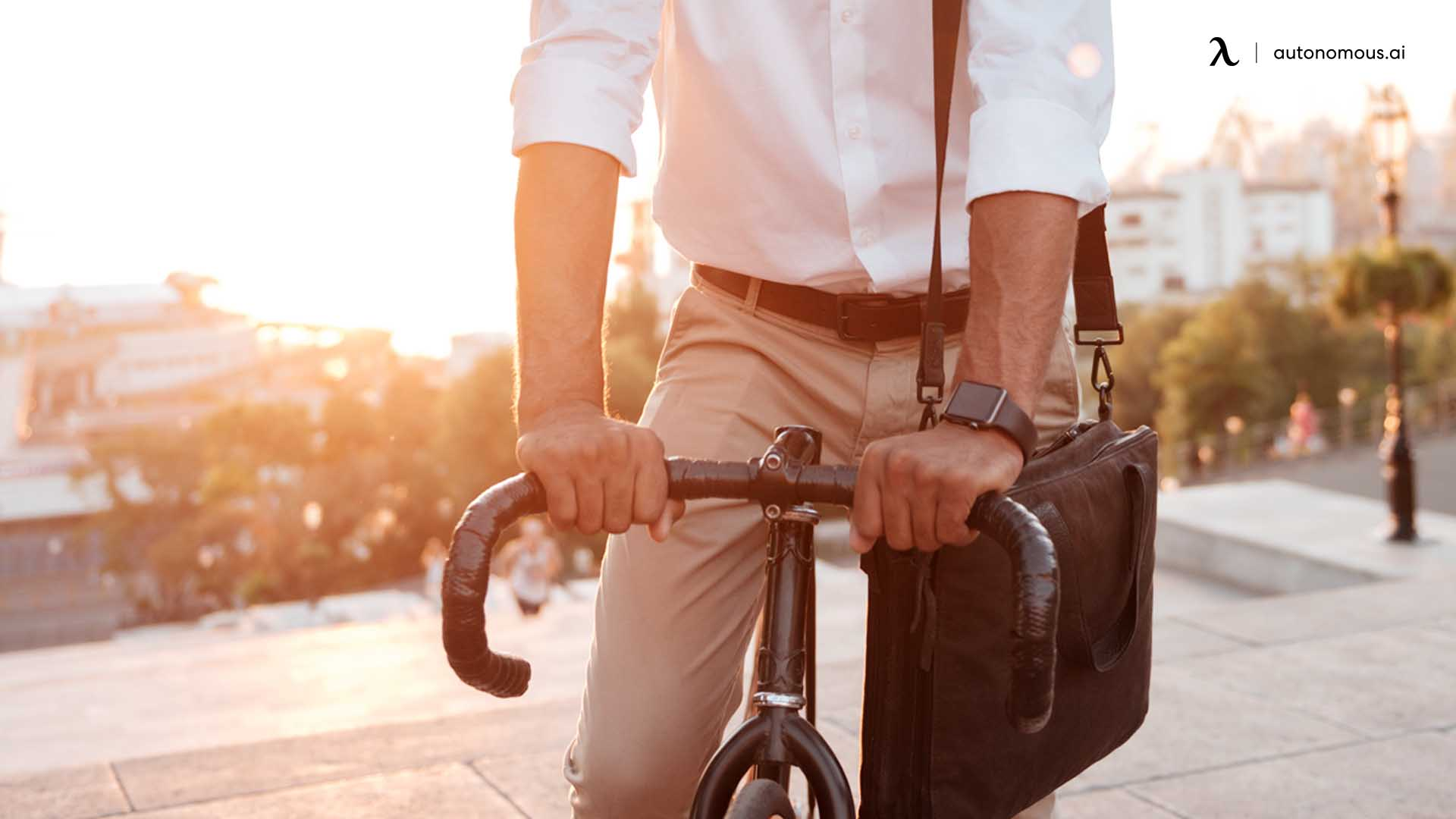 Cycle or Walk to the Office