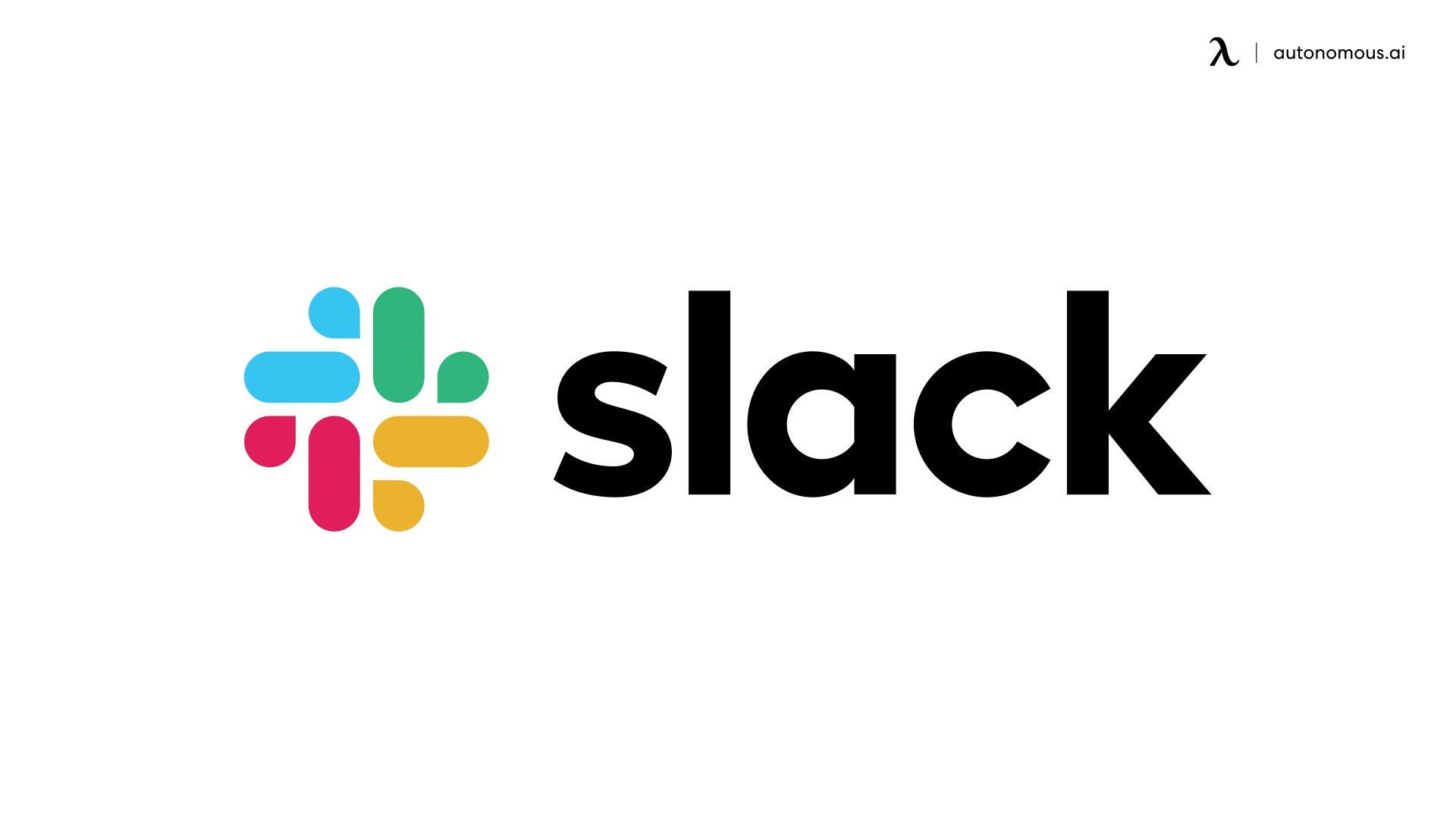 Slack productivity app
