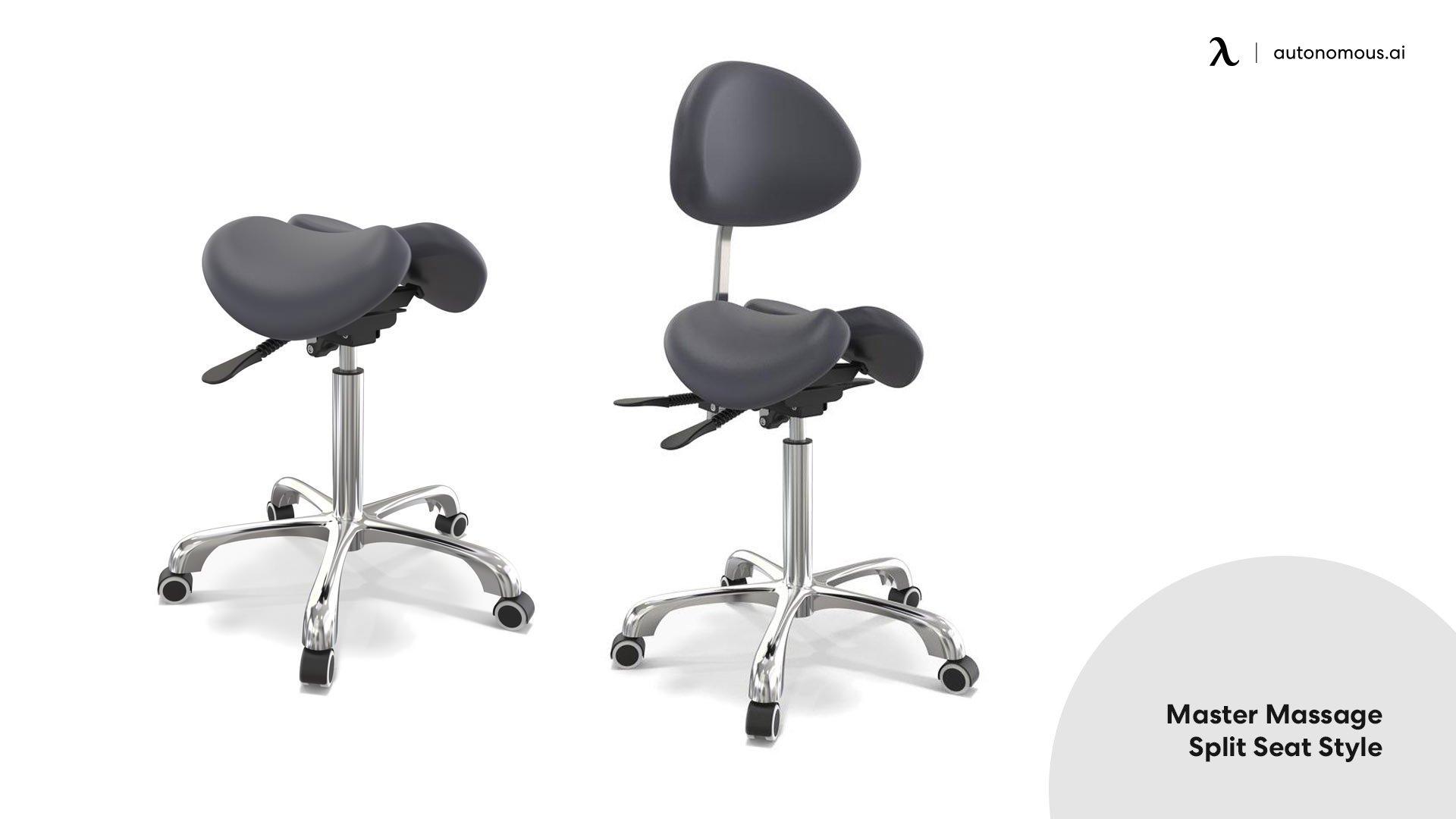 Master massage split seat style