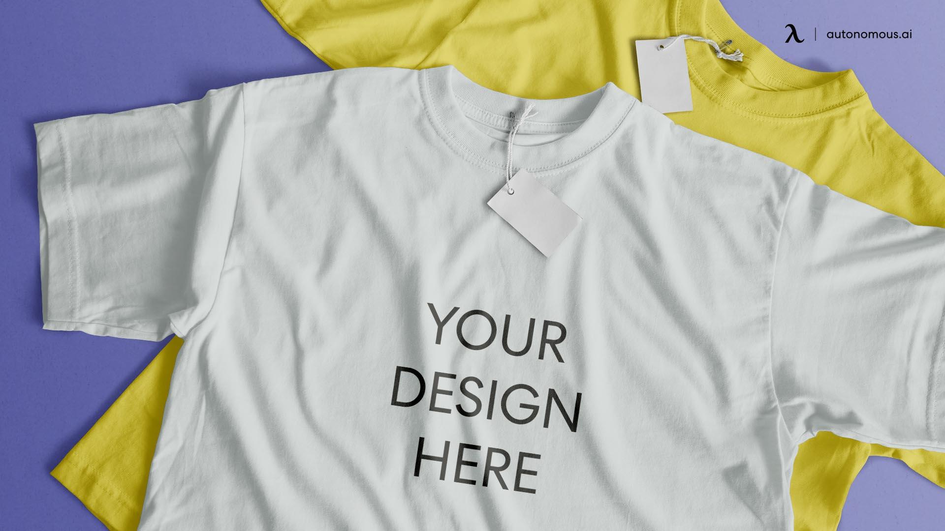 T-shirt print on demand