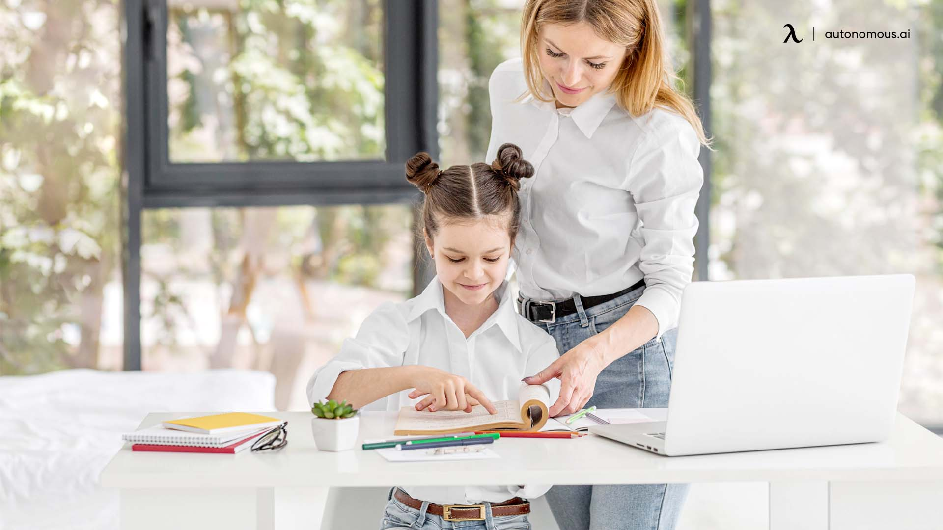 Standing desk for kids