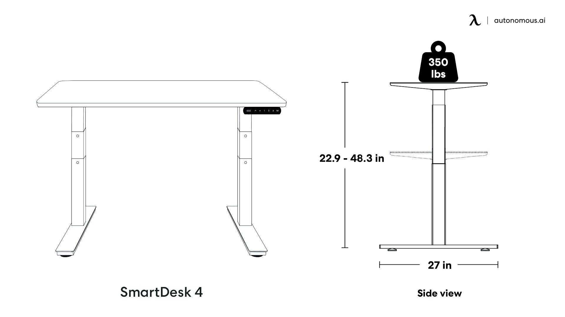 SmartDesk 4 Lifting Limit