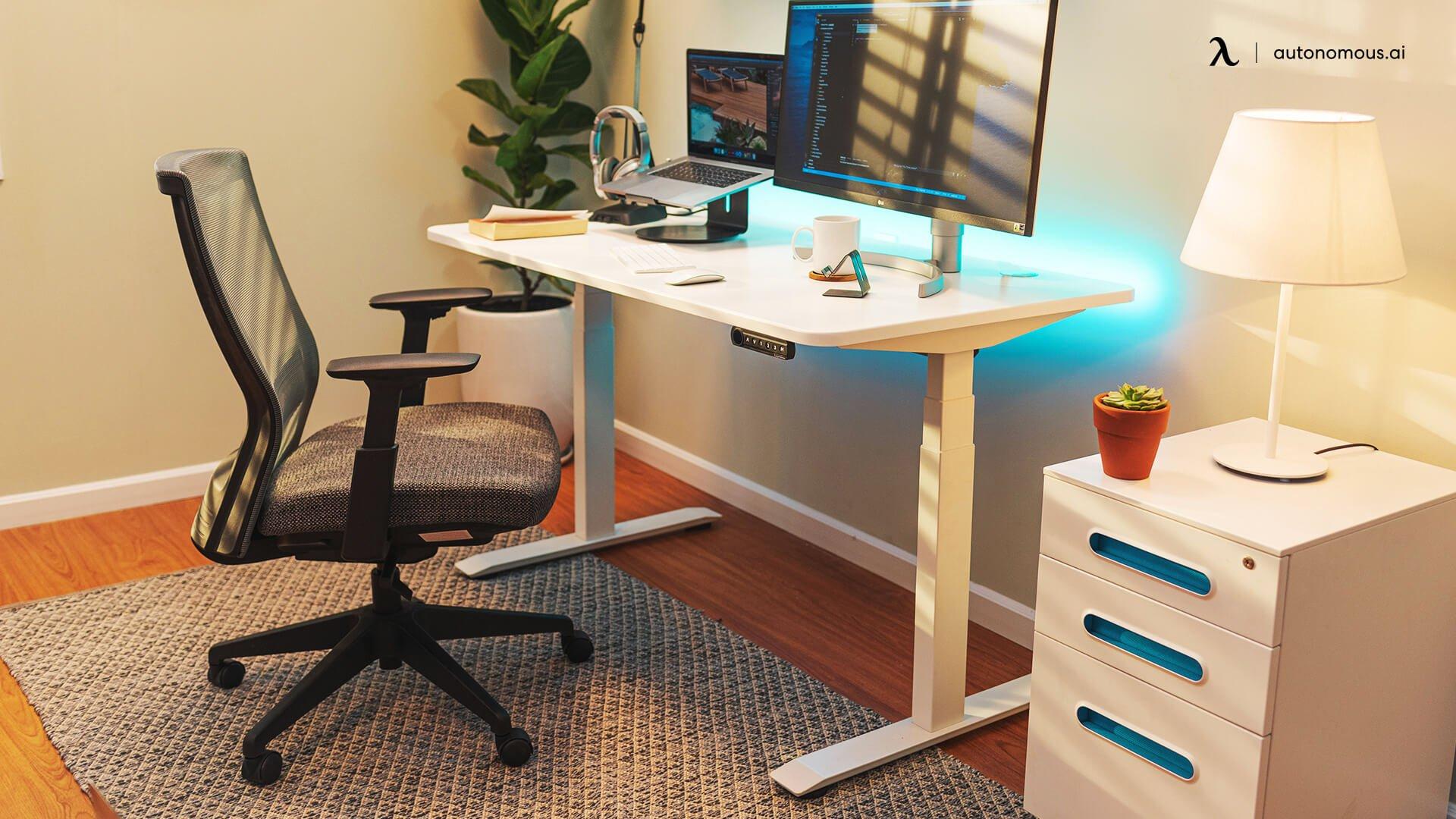 Ergonomic chair for programmer desk