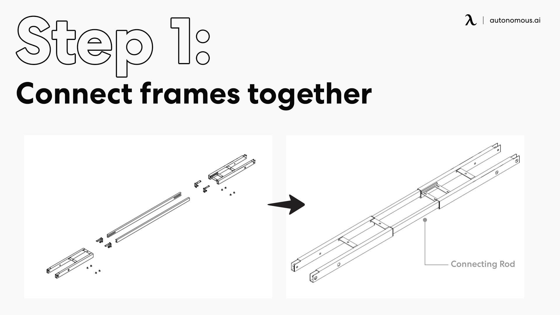 Connect frames together