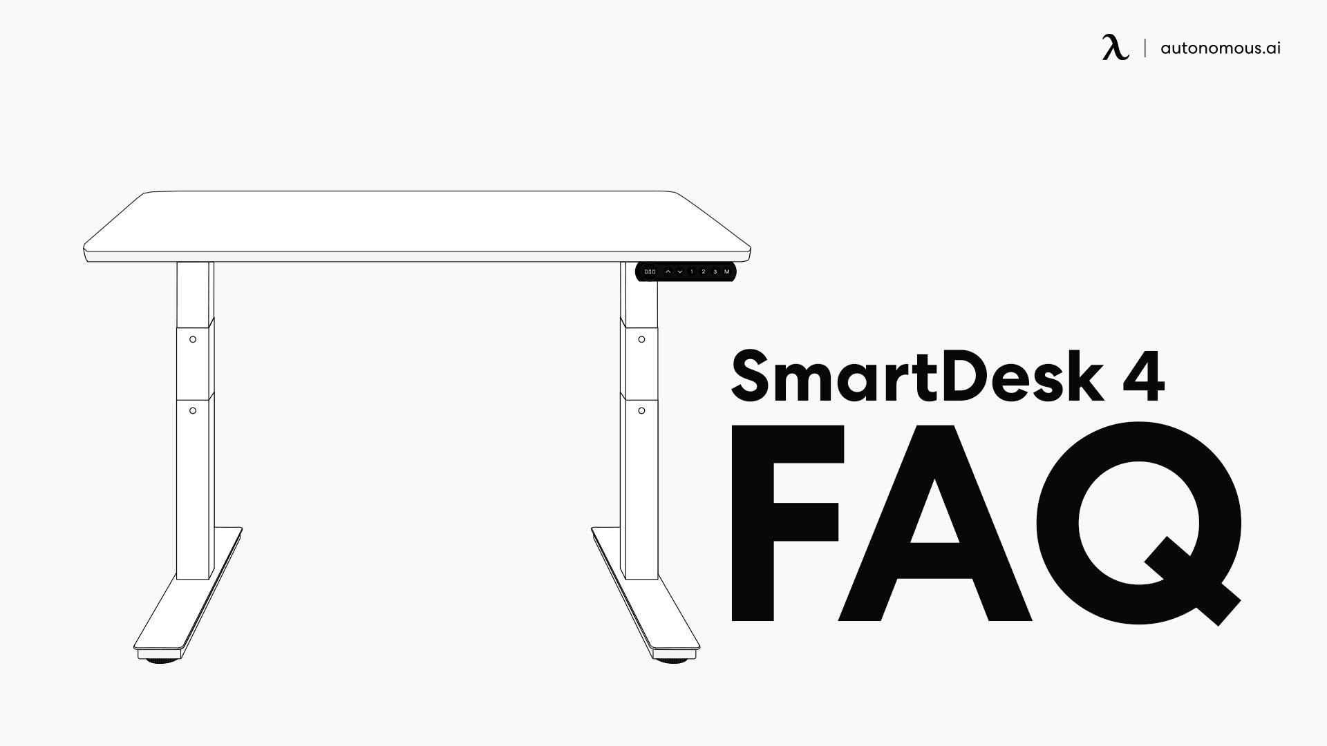 Assembling the SmartDesk 4