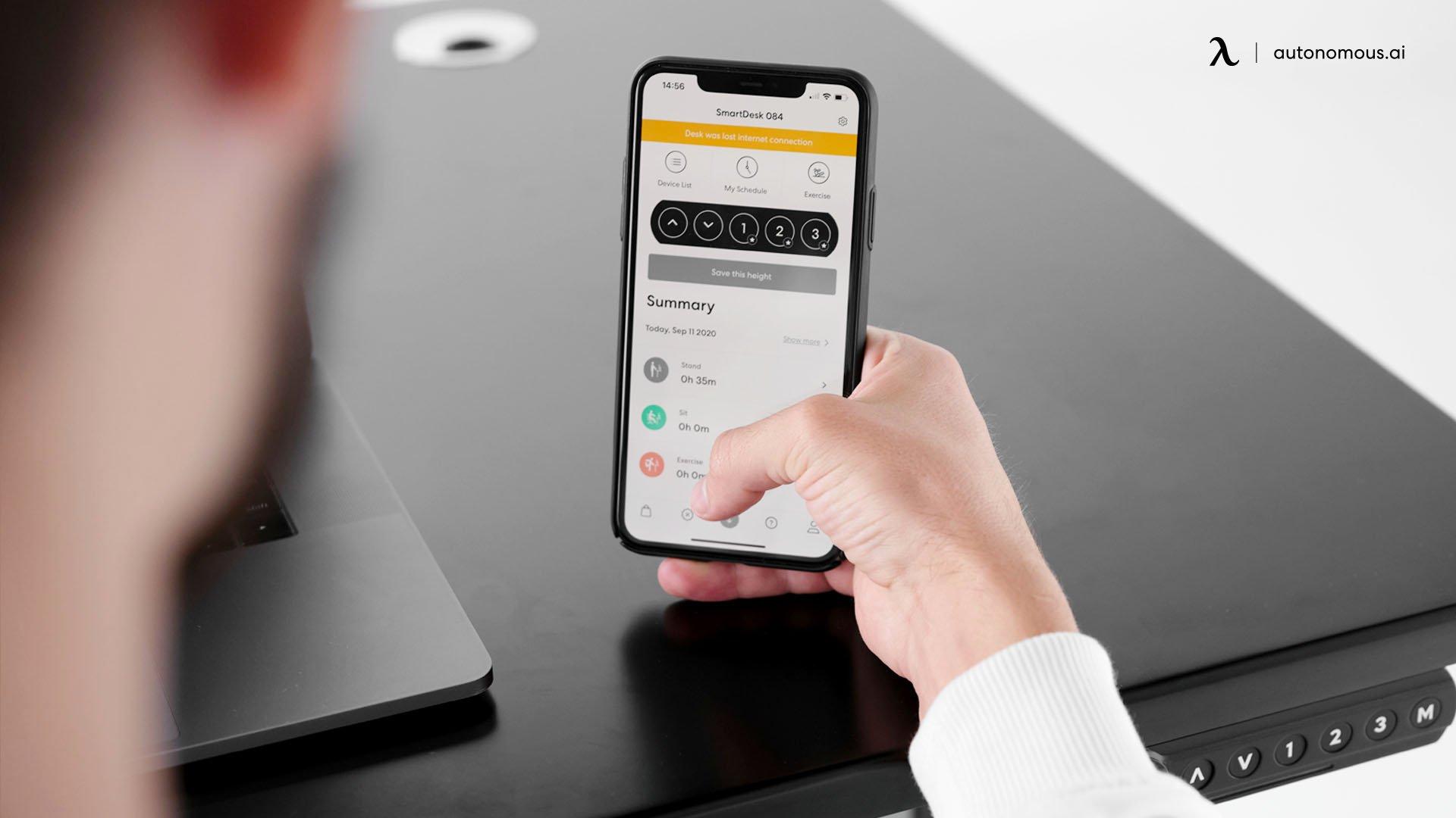 Connect SmartDesk 4