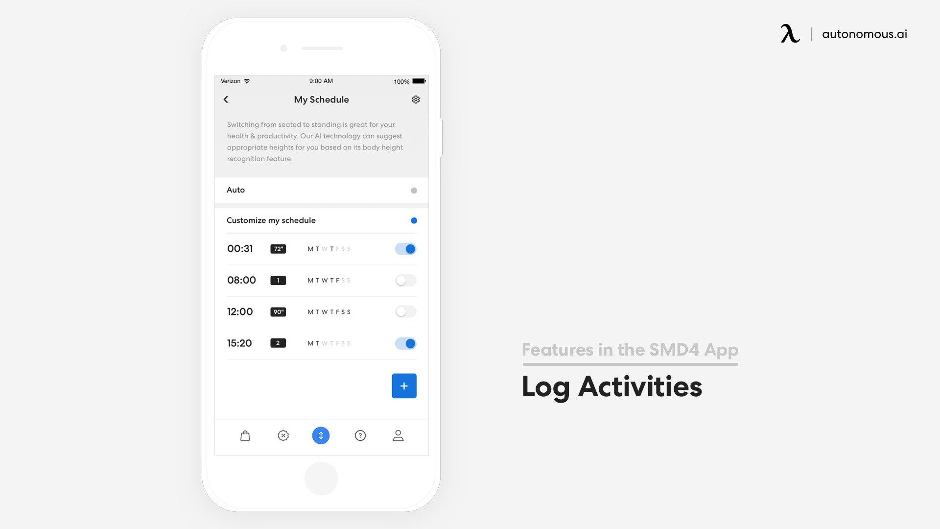 Log Activities