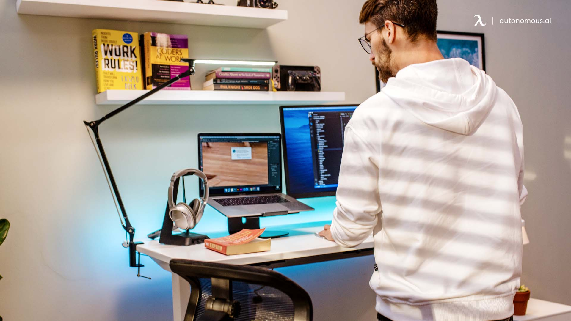 Concentrate better with a standing desk