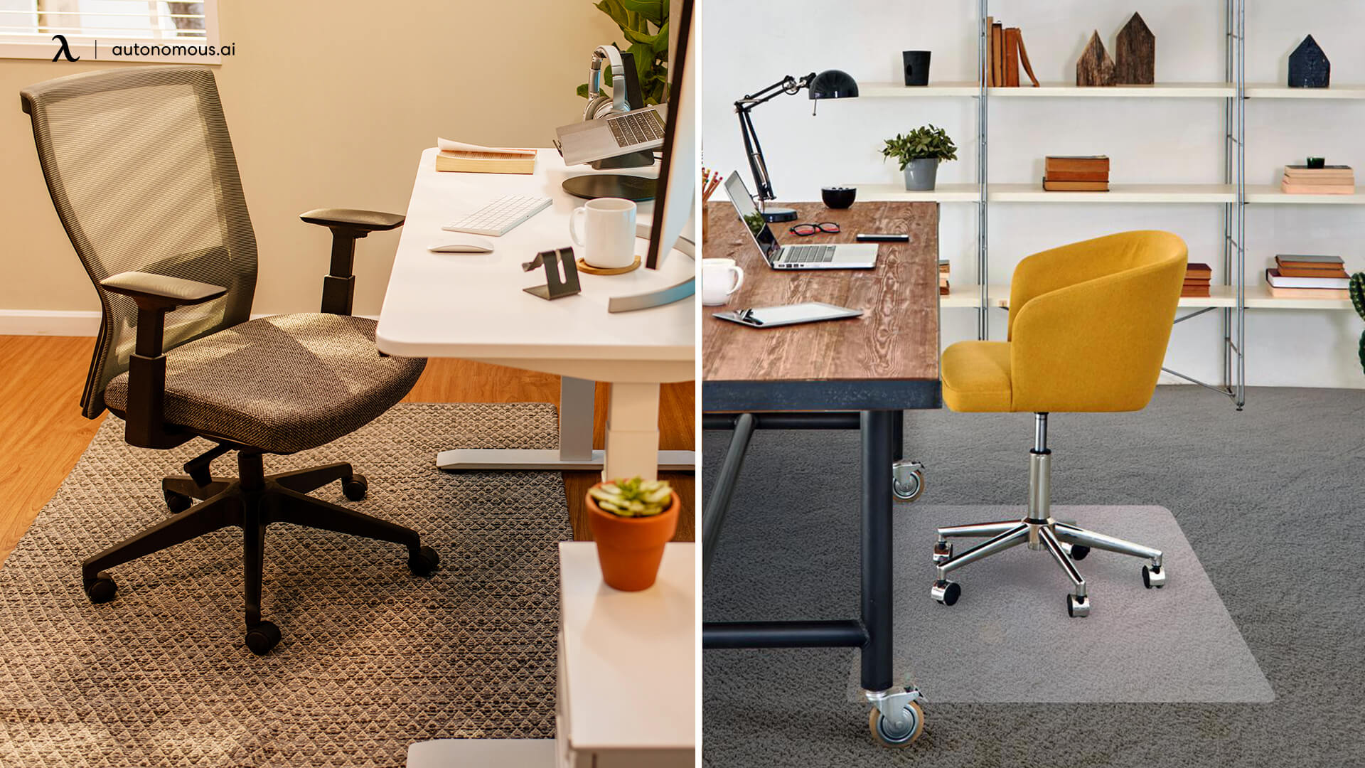 Furniture pad can protect wood floor from office chair