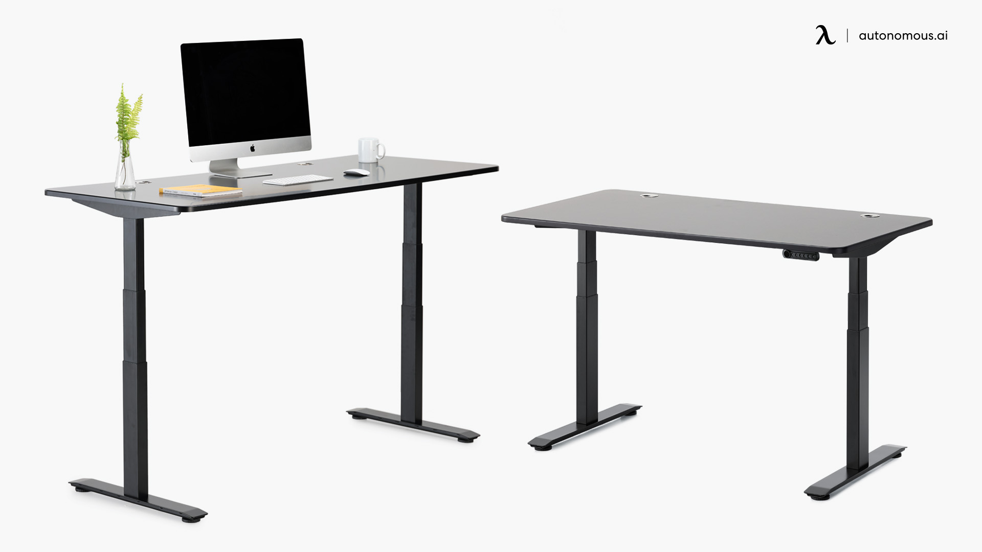 Size and shape of standing desk