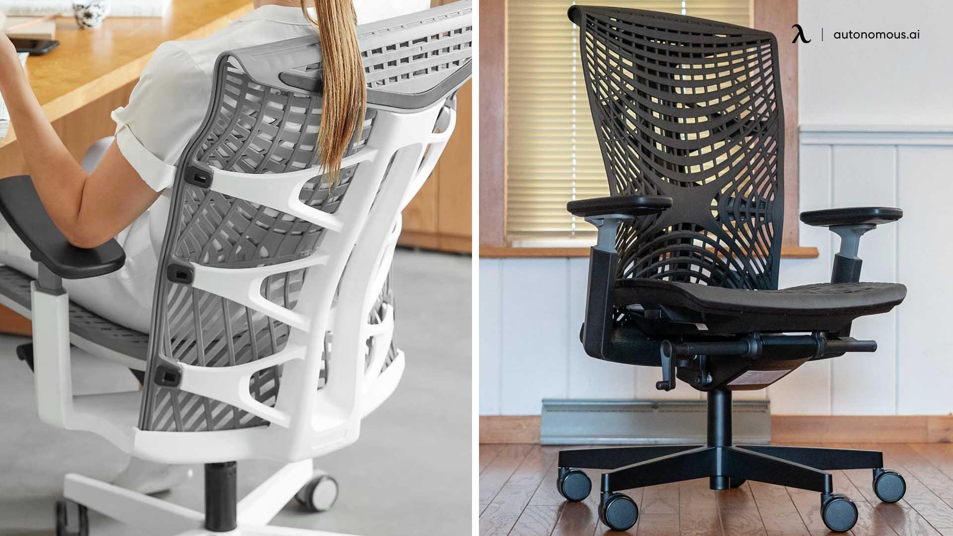 Kinn Chair - Special fishbone design chair