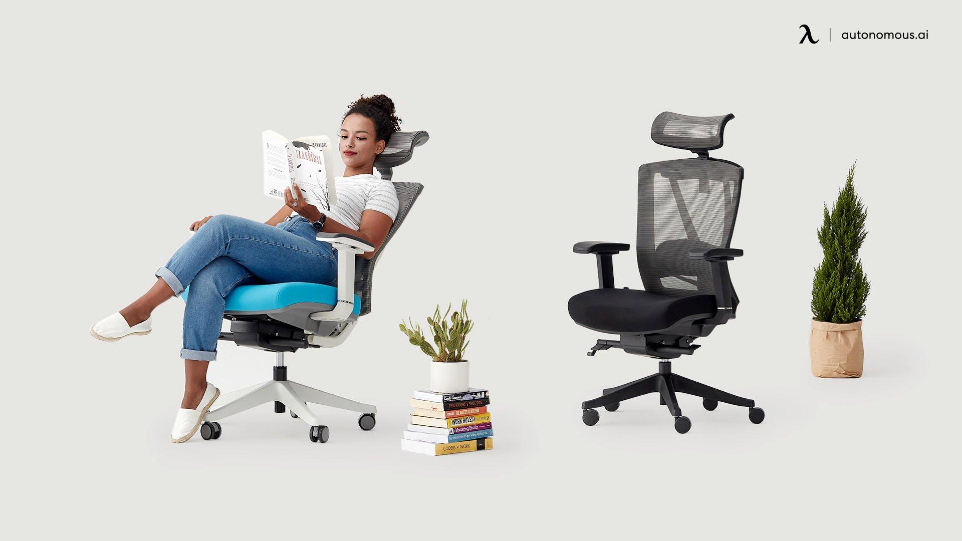 A chair with lumbar suport