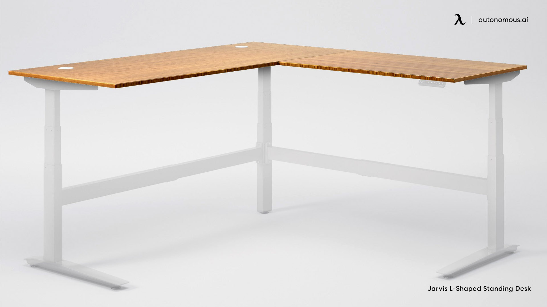 L-Shaped Standing Desk by Jarvis