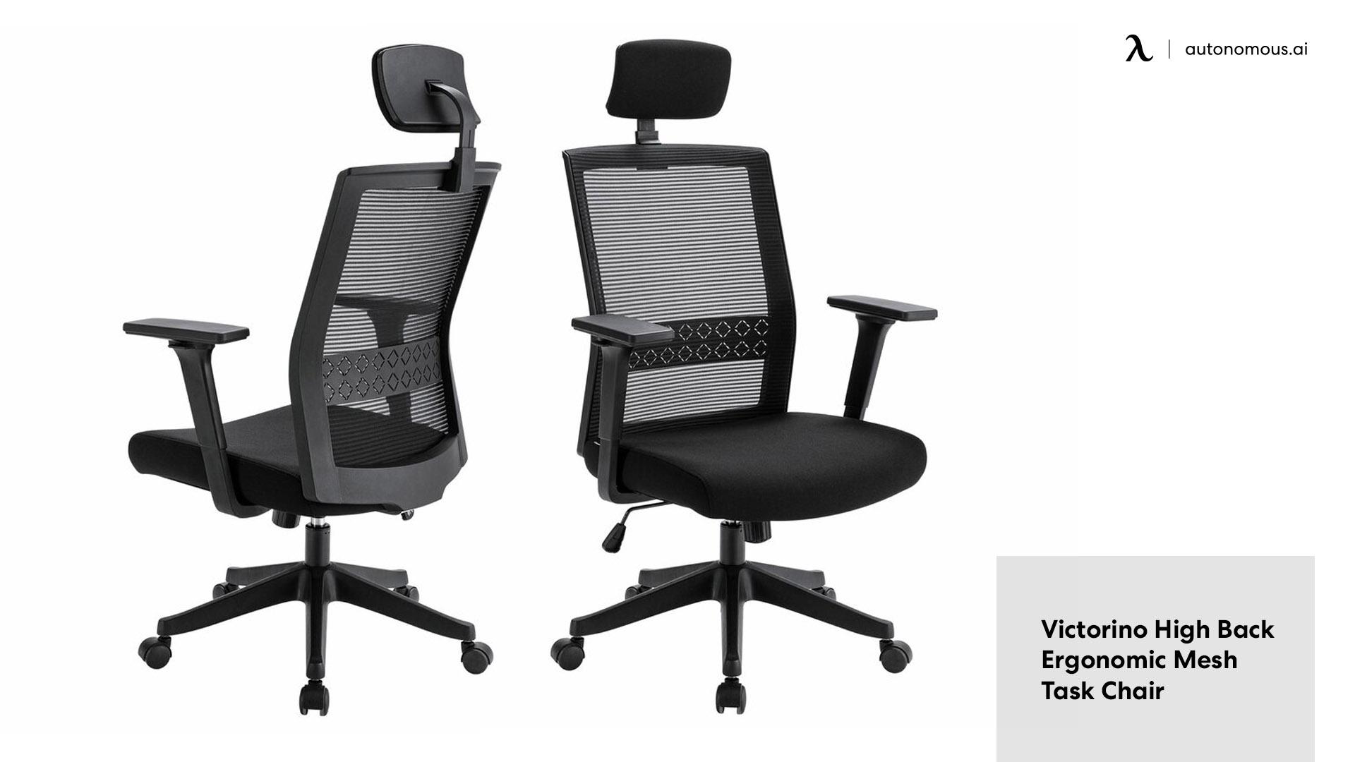 Victorino High Back Ergonomic Mesh Task Chair