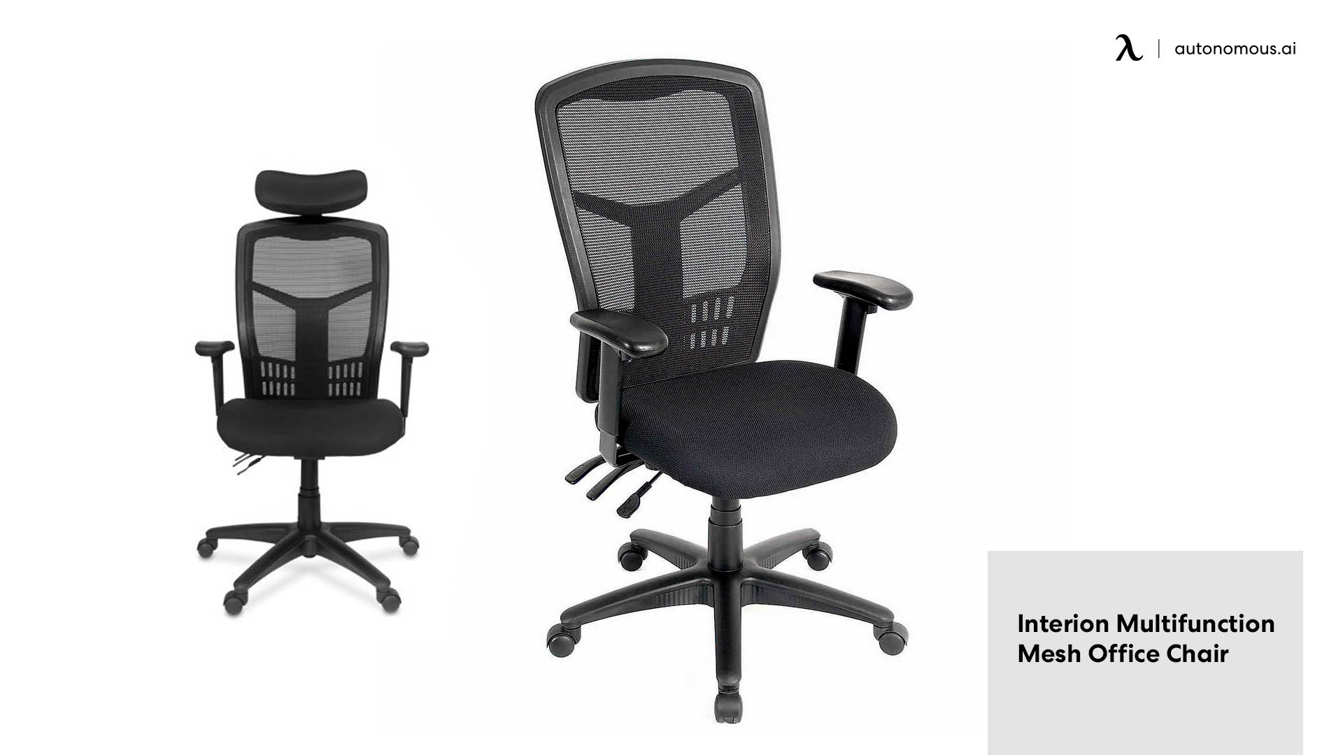 Interion Multifunction Mesh Office Chair