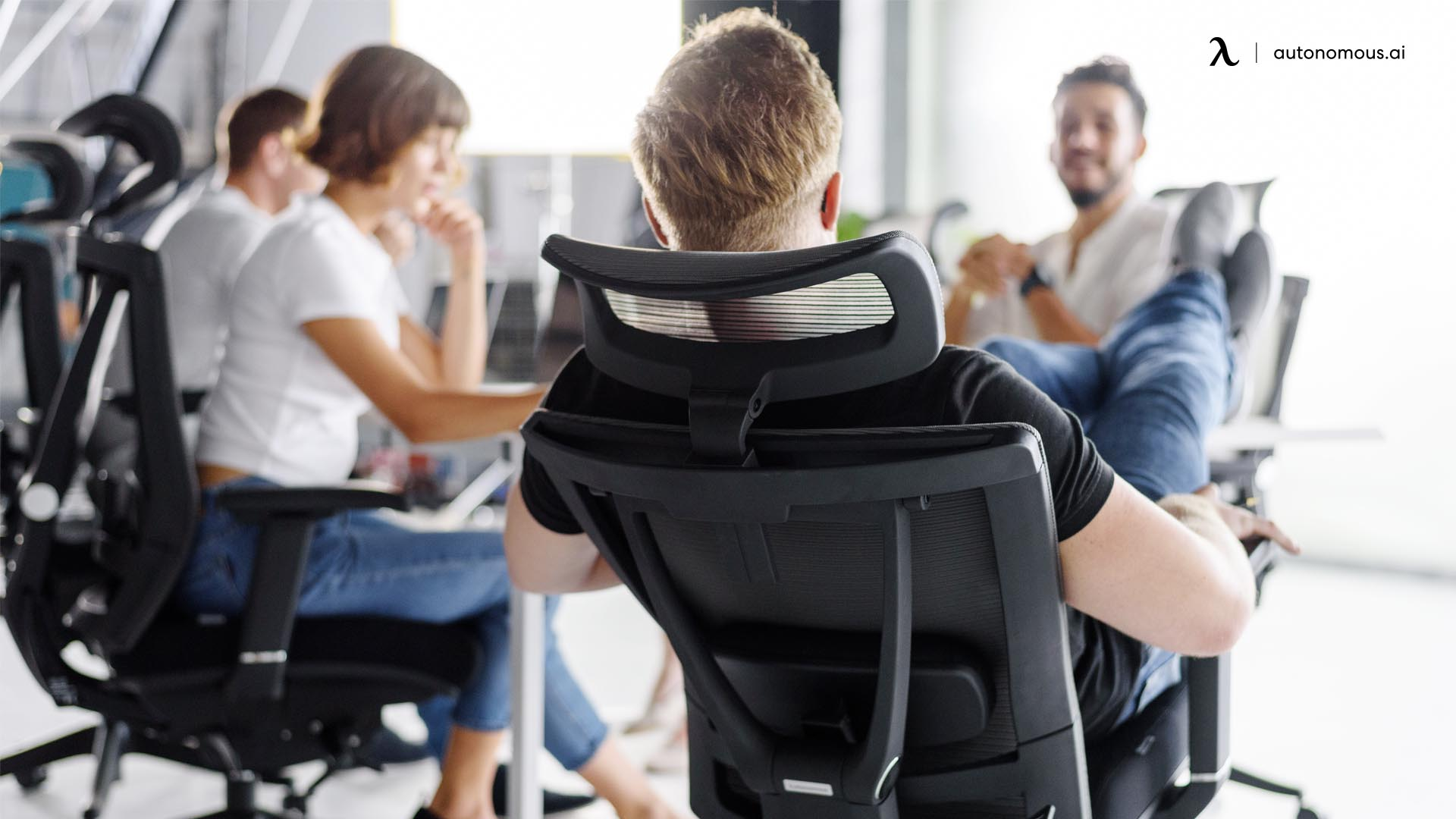 Office chairs with neck support