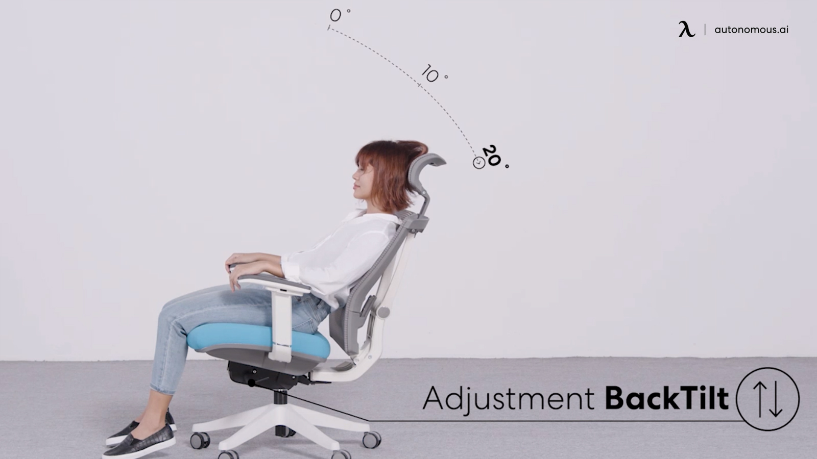 Adjustable back tilt reclining