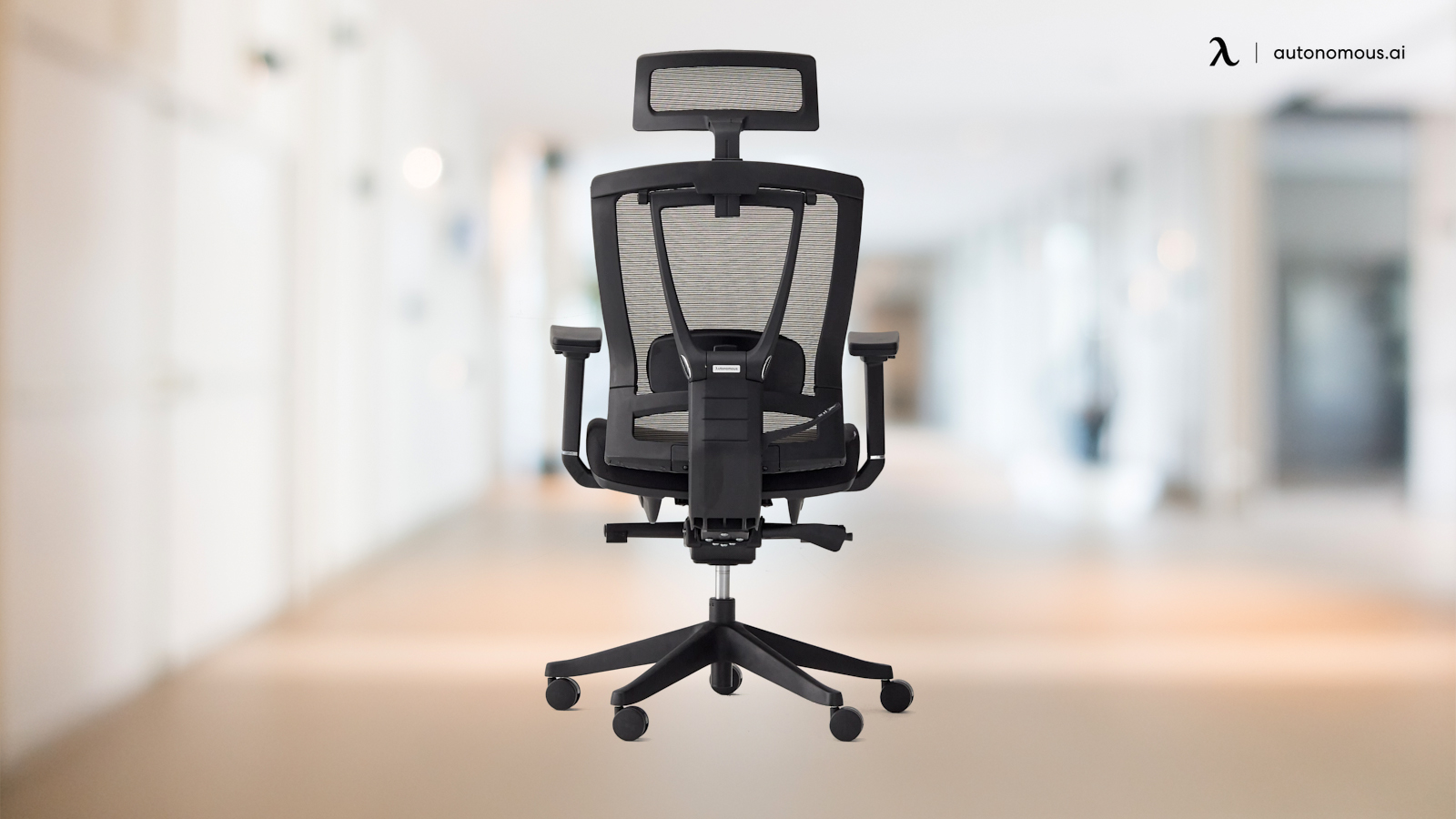 Example of an ergonomic chair