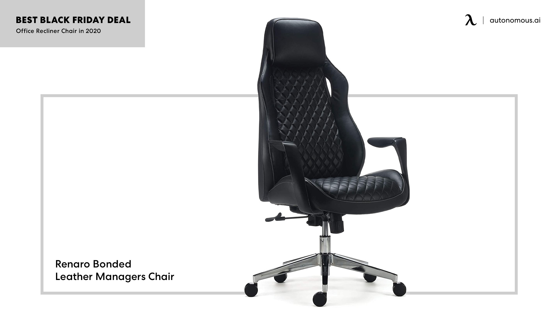 Renaro Bonded Leather Managers Chair