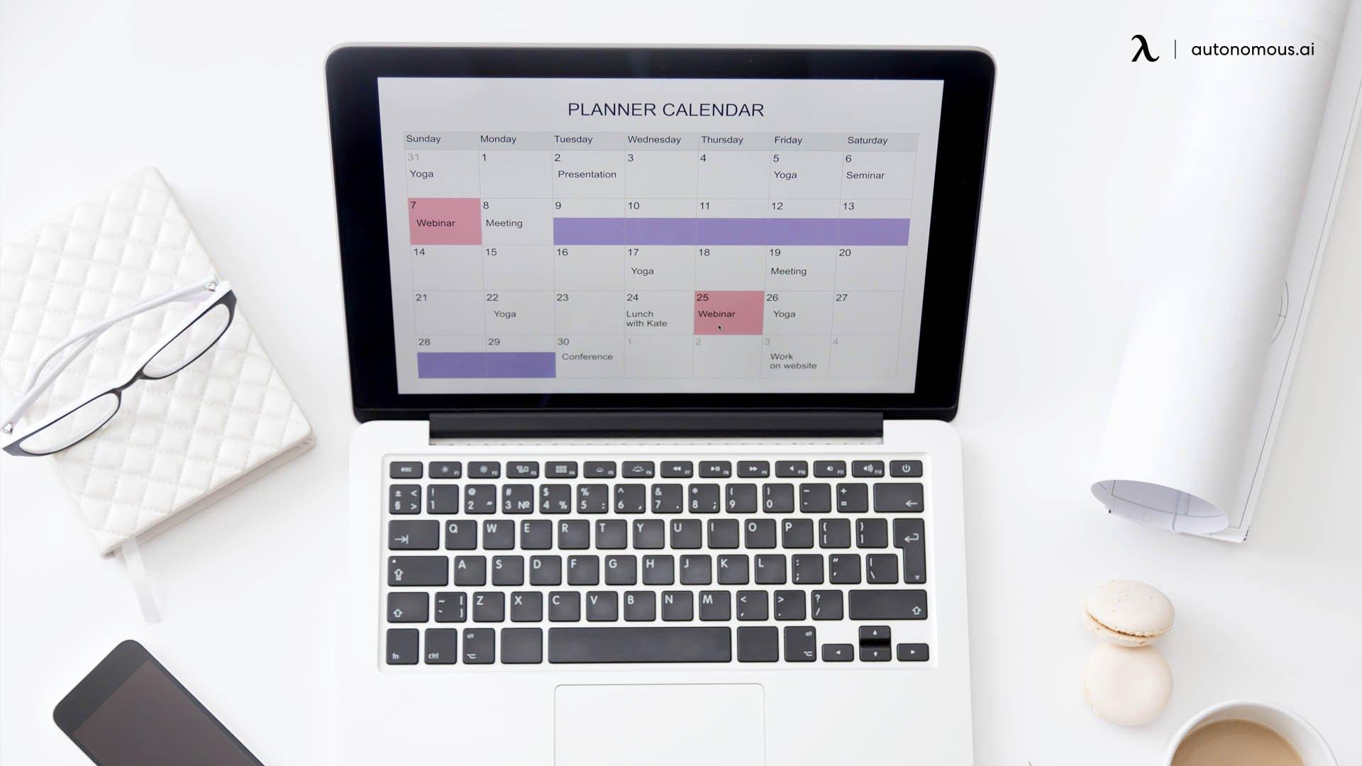 Autonomous SmartDesk 4 productivity features