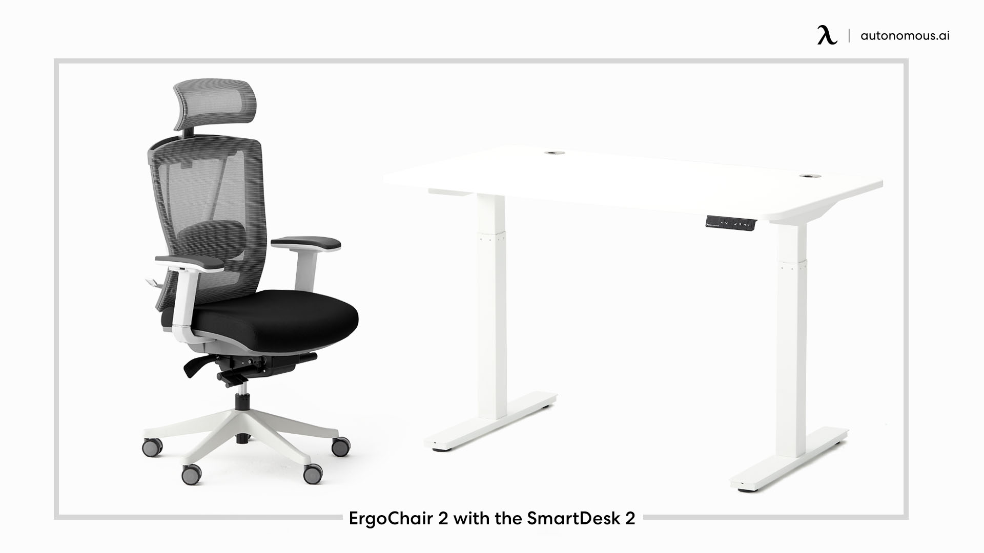 ErgoChair 2 with the SmartDesk 2