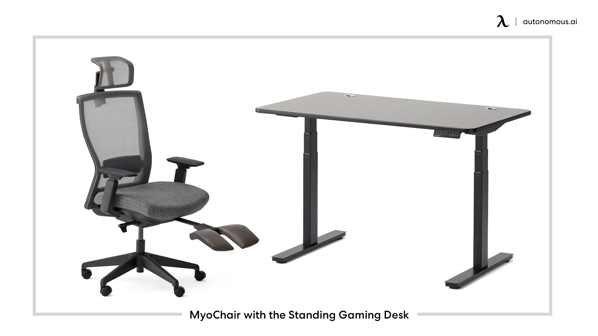 MyoChair with the Standing Gaming Desk