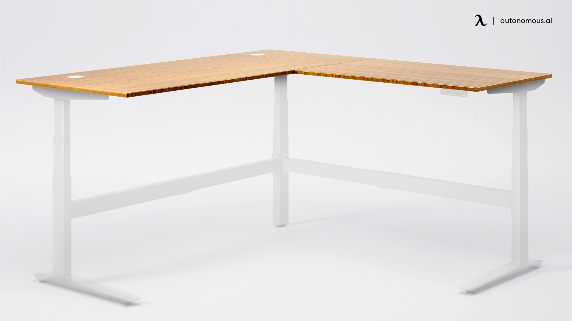 Jarvis L-Shaped Standing Desk for Home Use