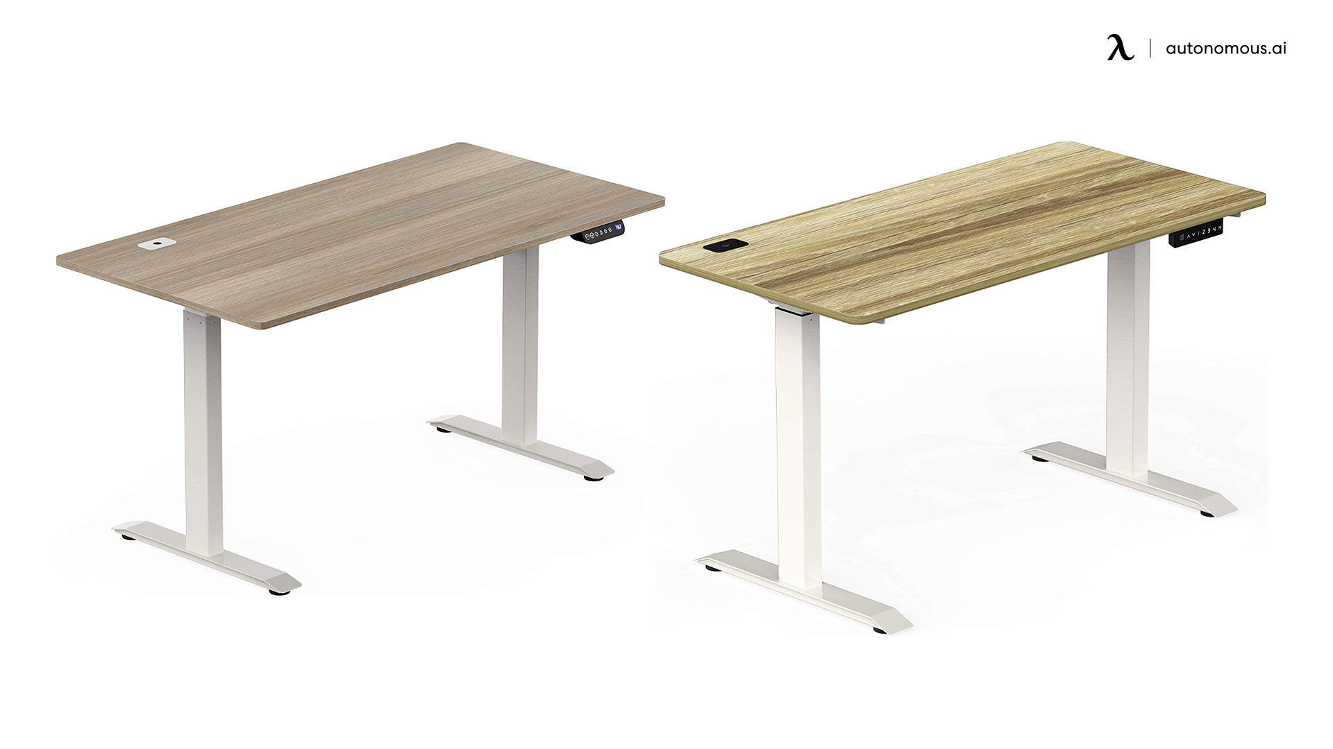 SHW Electric Height Standing Desk for Home Use