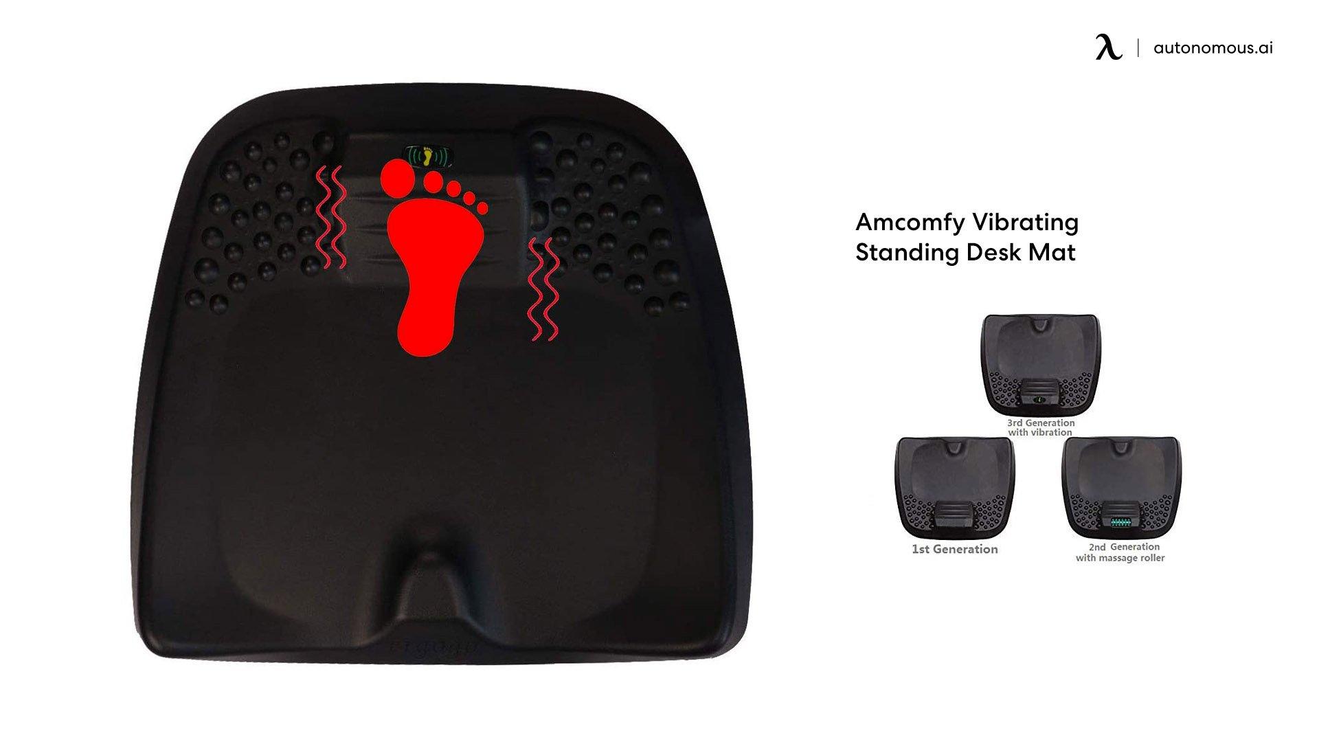 Amcomfy Vibrating Standing Desk Mat