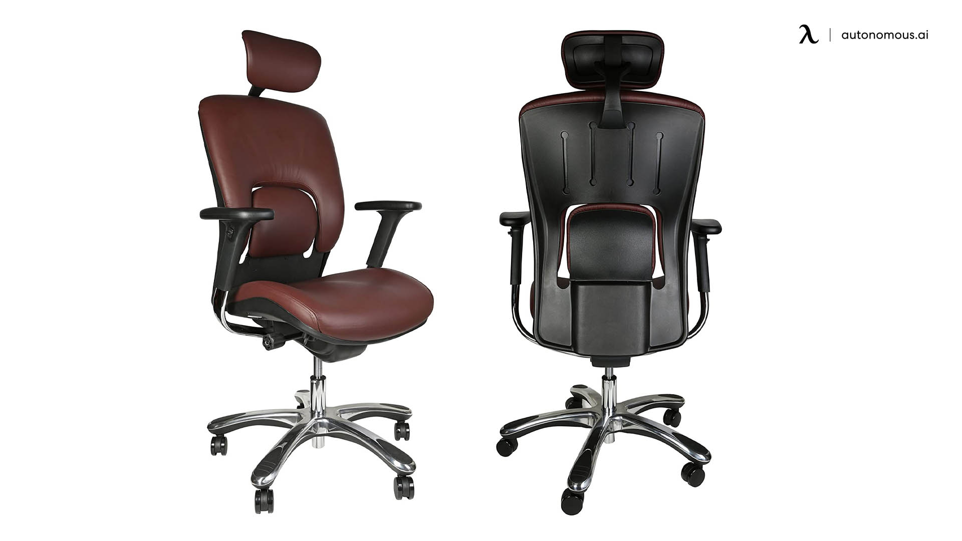 Ergonomic Genuine Leather Chair by GM Seating